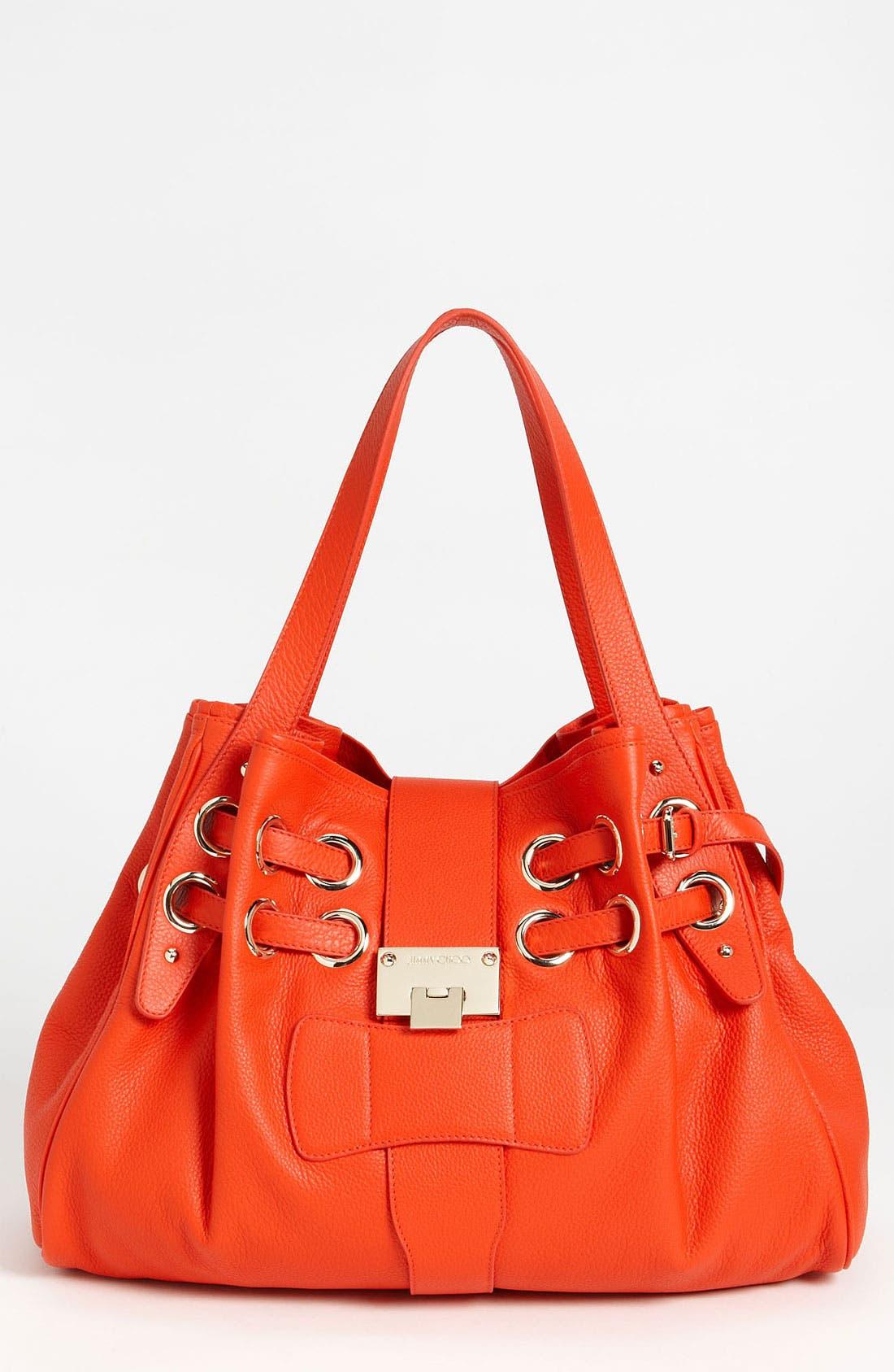 Main Image - Jimmy Choo 'Ramona' Leather Shopper