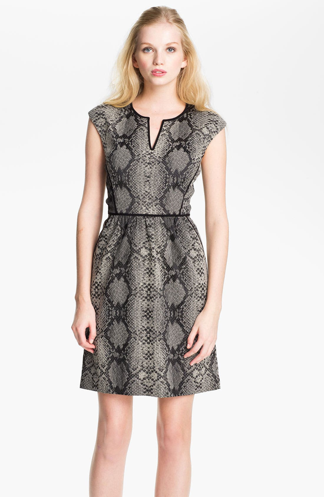 Alternate Image 1 Selected - Rebecca Taylor Print Sheath Dress