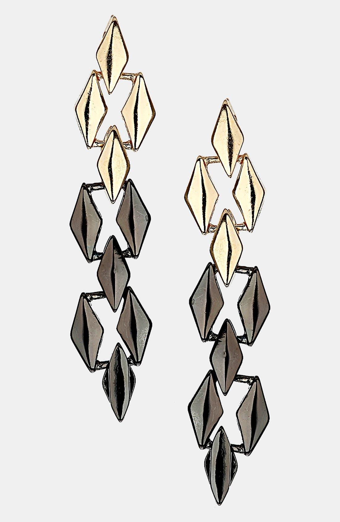Alternate Image 1 Selected - Topshop Articulated Earrings