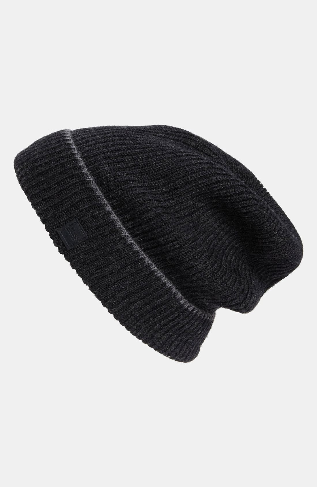 Alternate Image 1 Selected - BOSS Black 'Wotana' Wool Knit Cap