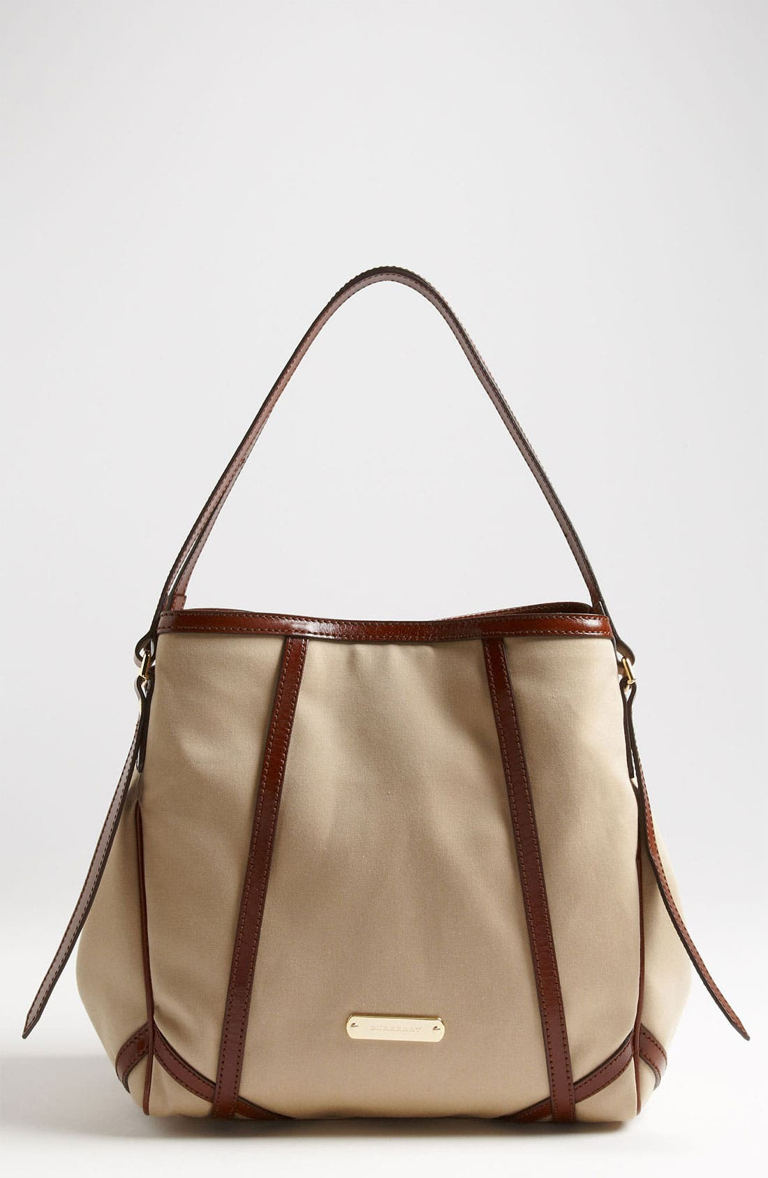 Main Image - Burberry 'Small Trench' Fabric Tote