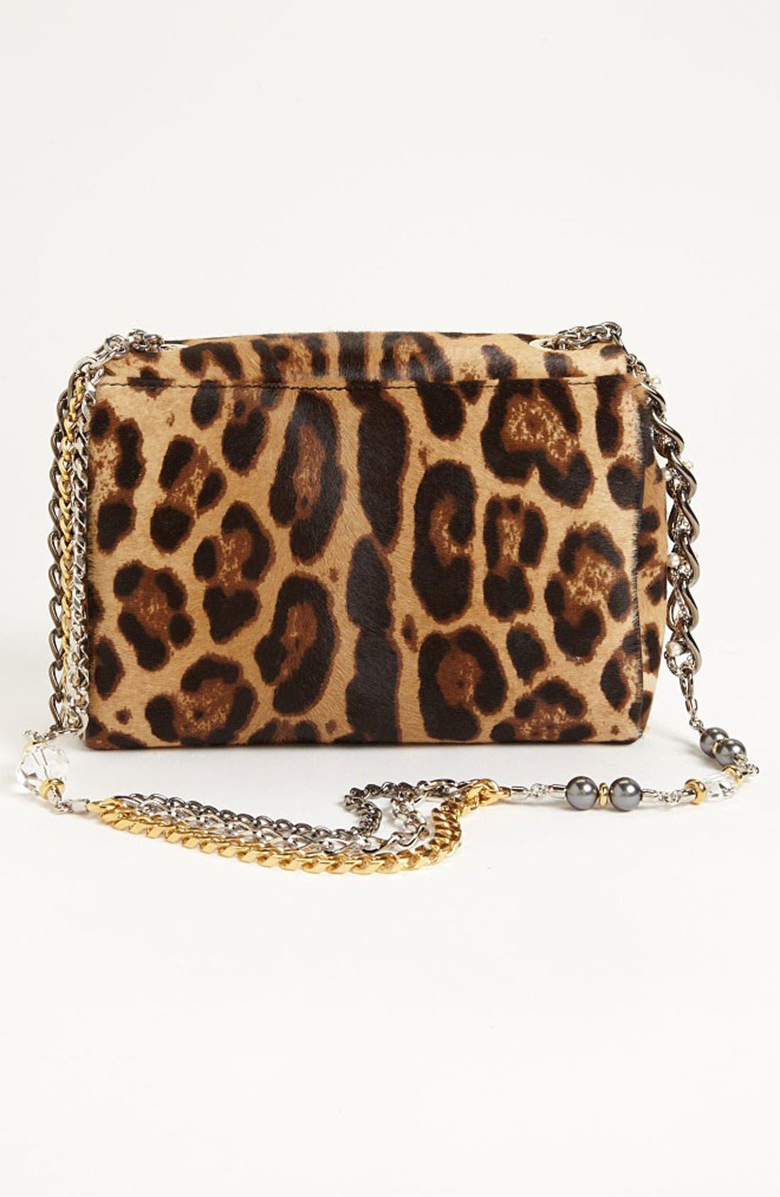Alternate Image 4  - Dolce&Gabbana 'Miss Charles' Calf Hair Shoulder Bag