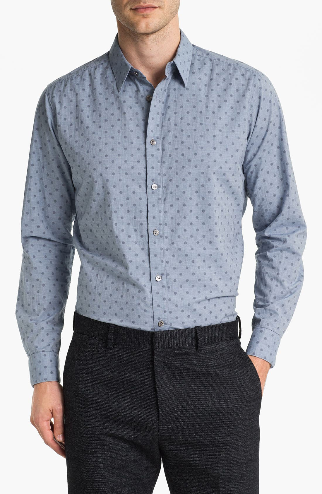 Alternate Image 1 Selected - Theory 'Rastigar' Chambray Shirt