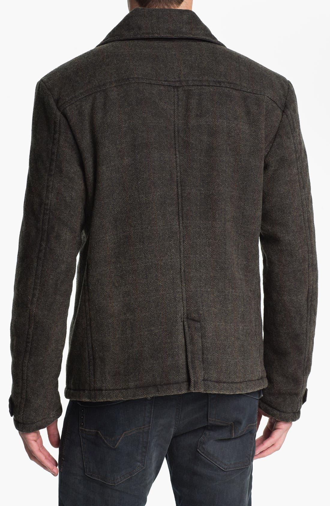 Alternate Image 2  - DIESEL® 'Warner' Herringbone Jacket