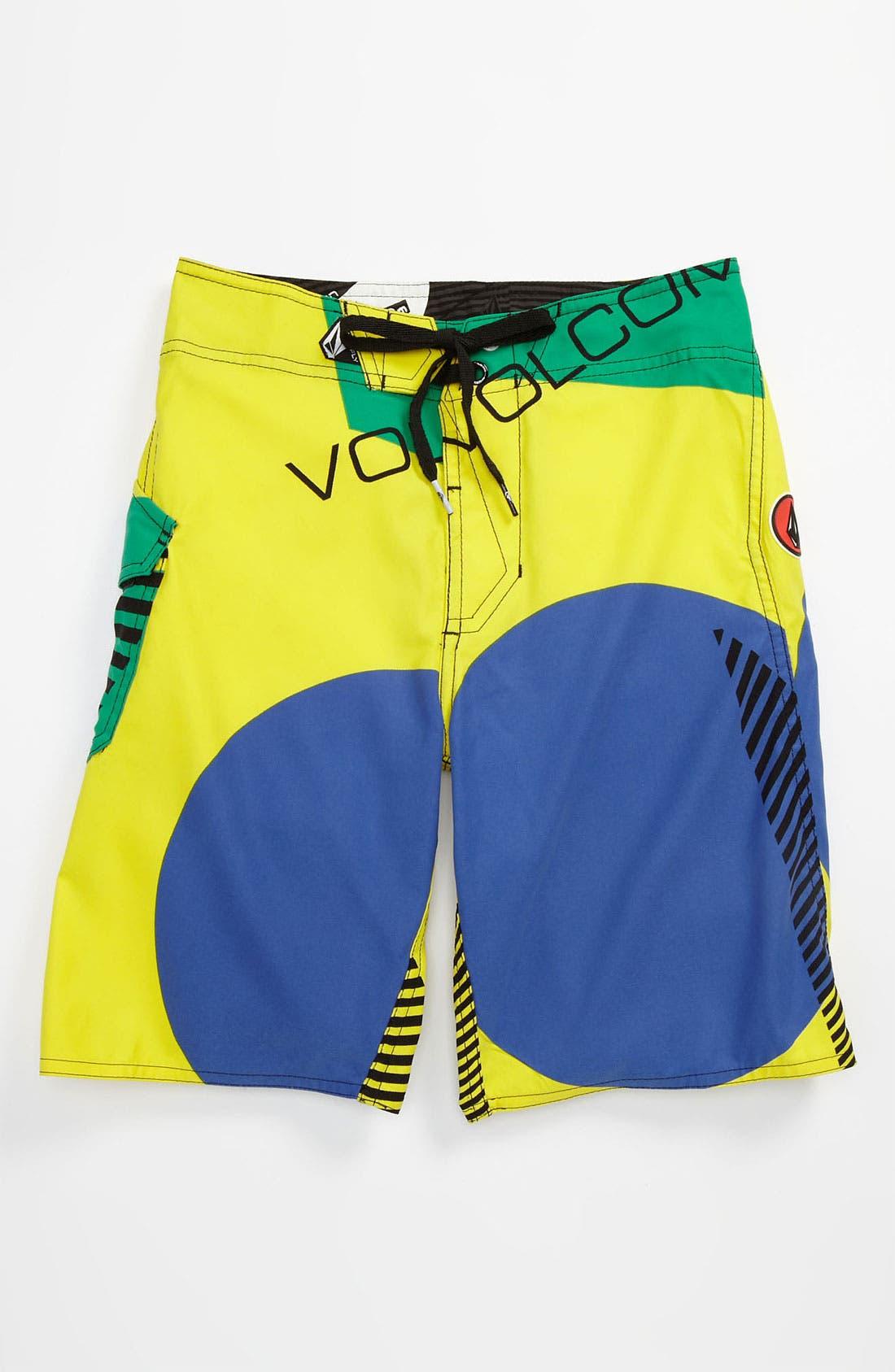 Main Image - Volcom 'Maguro' Board Shorts (Little Boys)