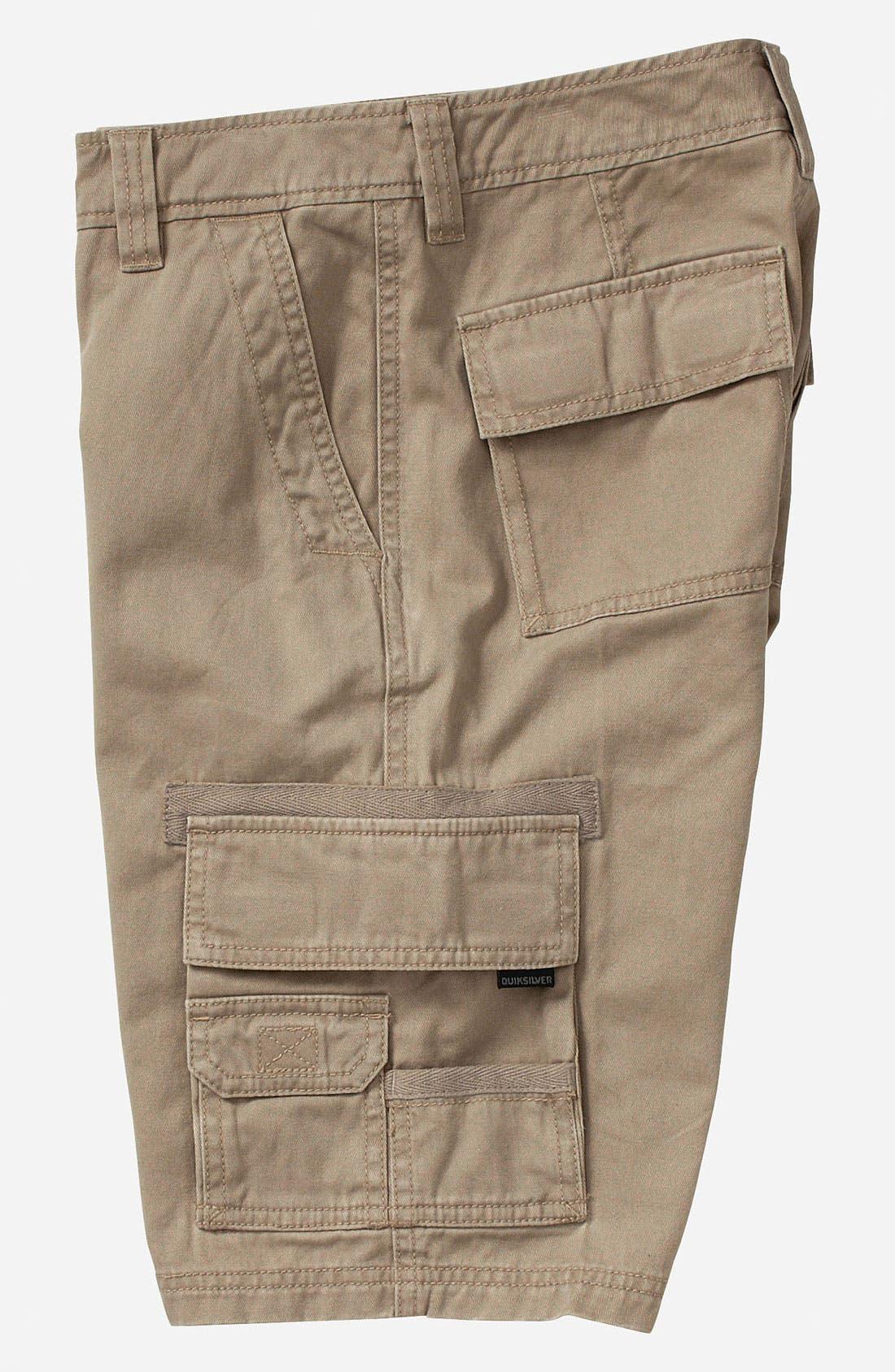 Alternate Image 2  - Quiksilver 'Escargot' Cargo Shorts (Big Boys)