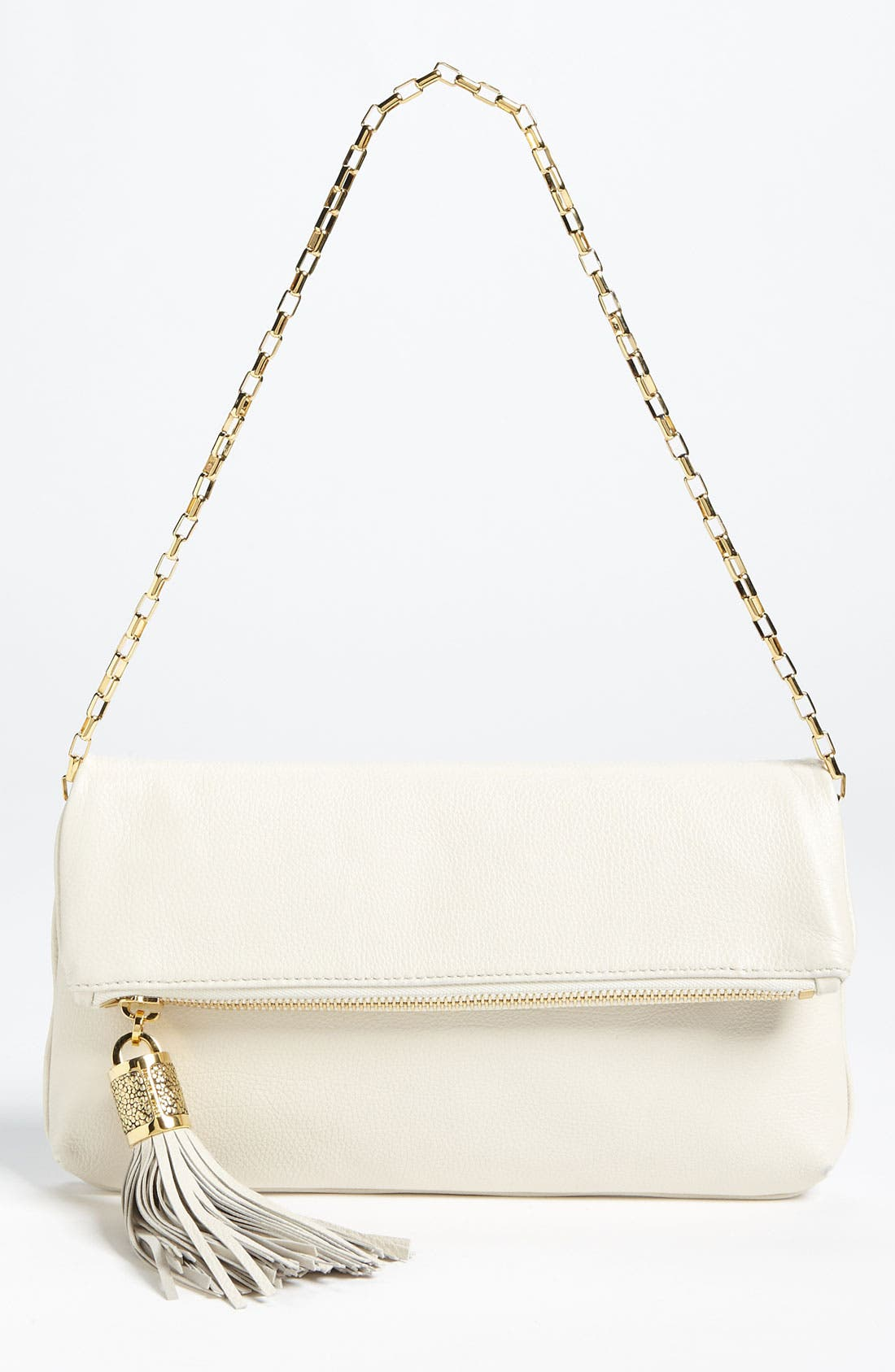 Main Image - Michael Kors 'Tonne' Leather Shoulder Bag