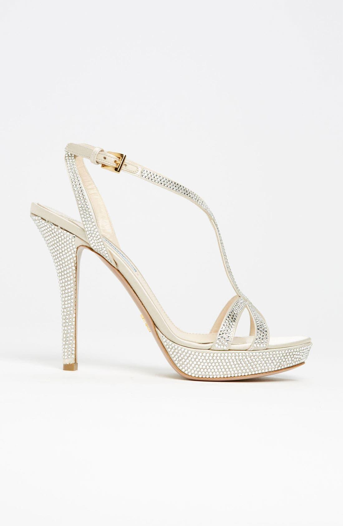 Alternate Image 4  - Prada Crystal Platform Sandal
