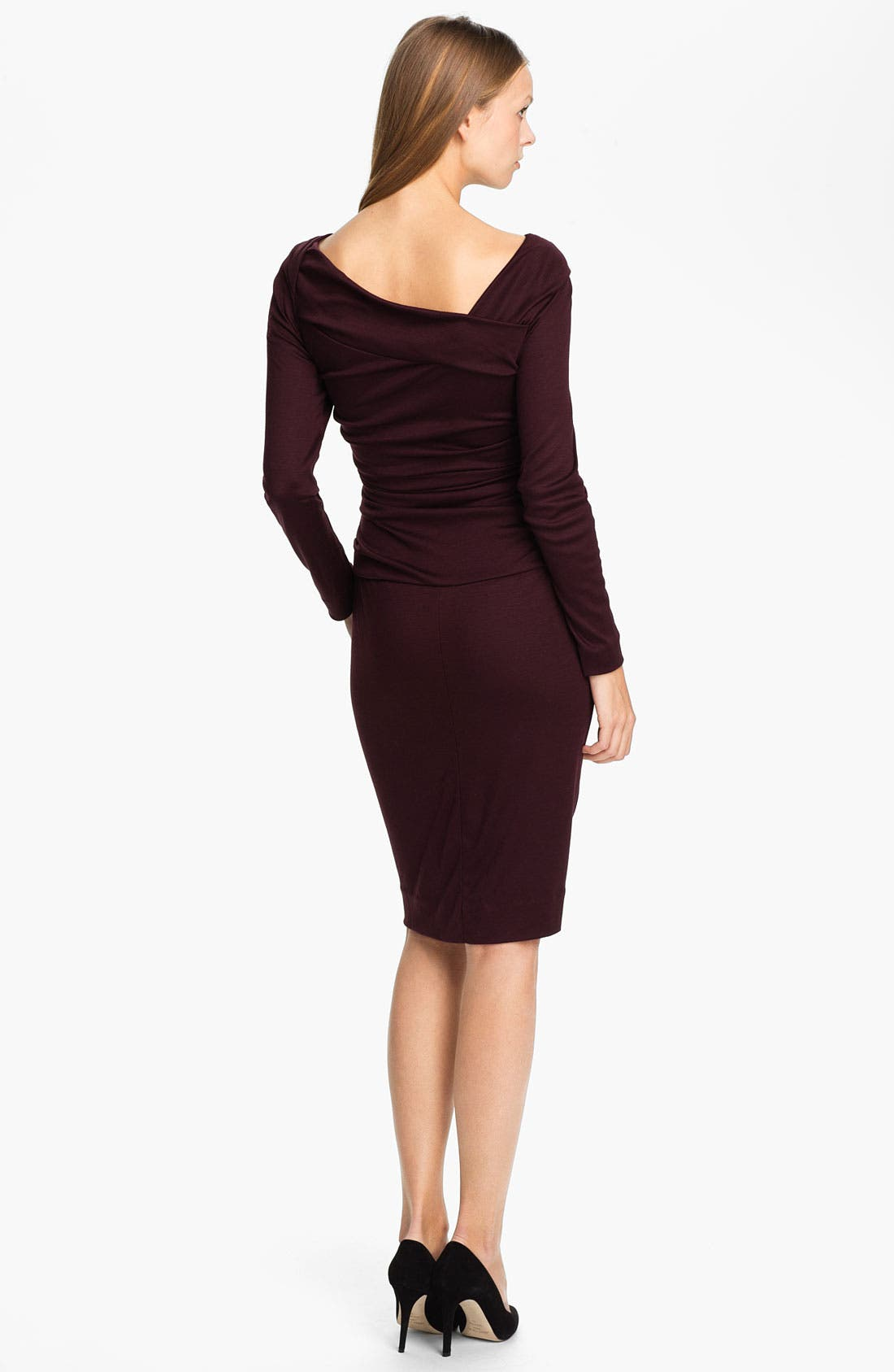 Alternate Image 2  - Diane von Furstenberg 'Bentley' Wool Midi Dress