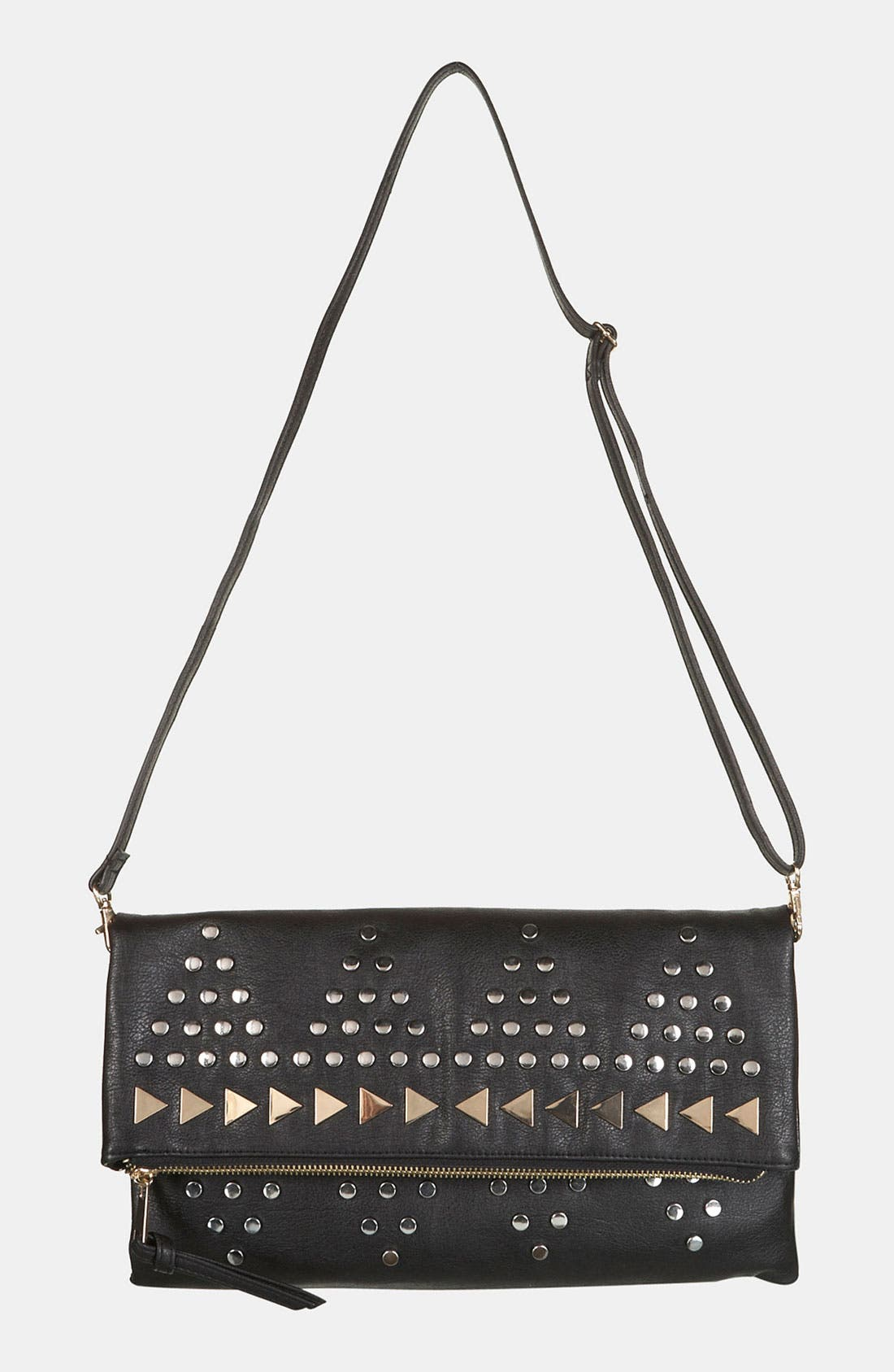Alternate Image 2  - Topshop Studded Clutch