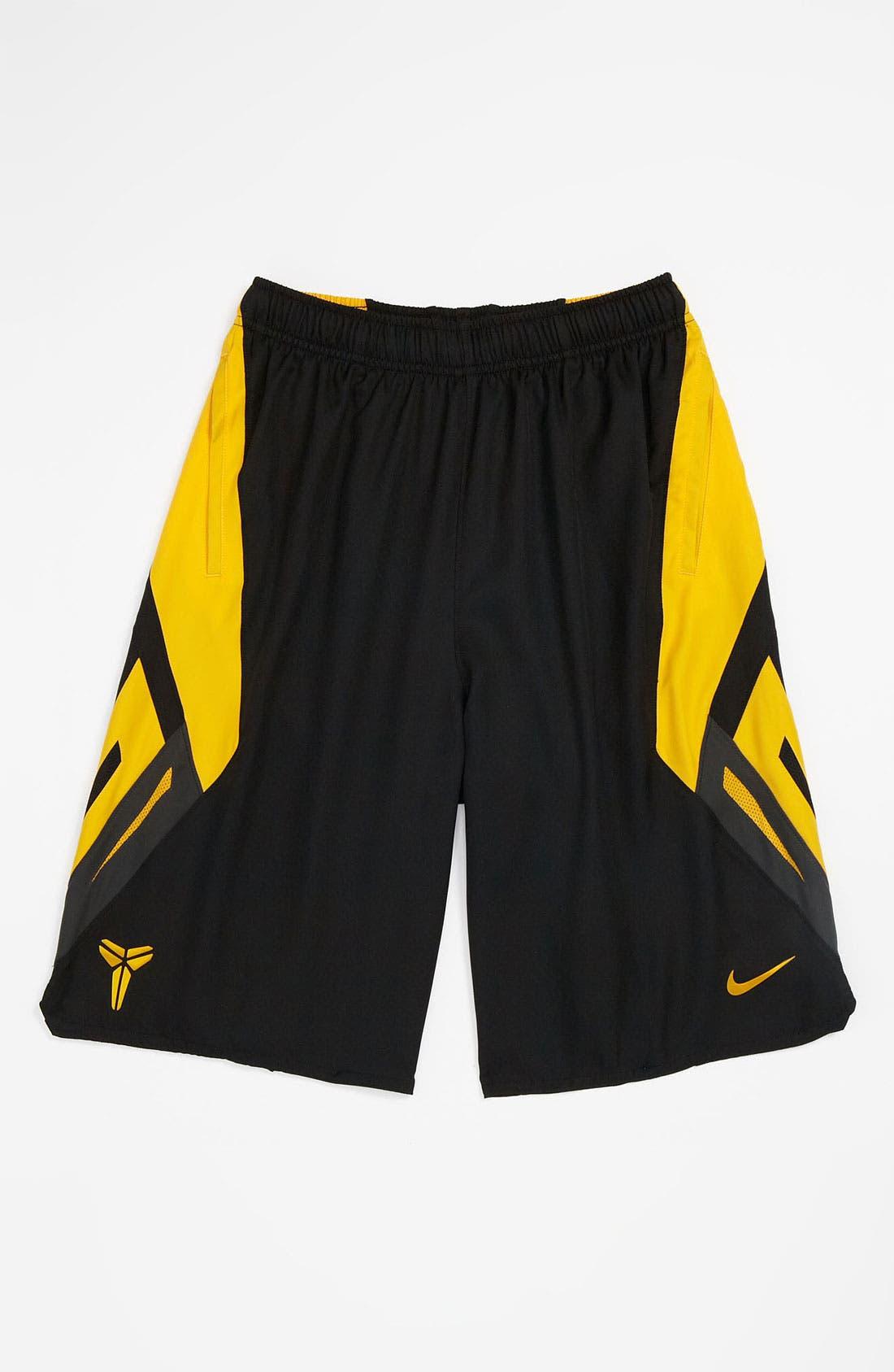 Alternate Image 1 Selected - Nike 'Kobe Game Time' Shorts (Big Boys)