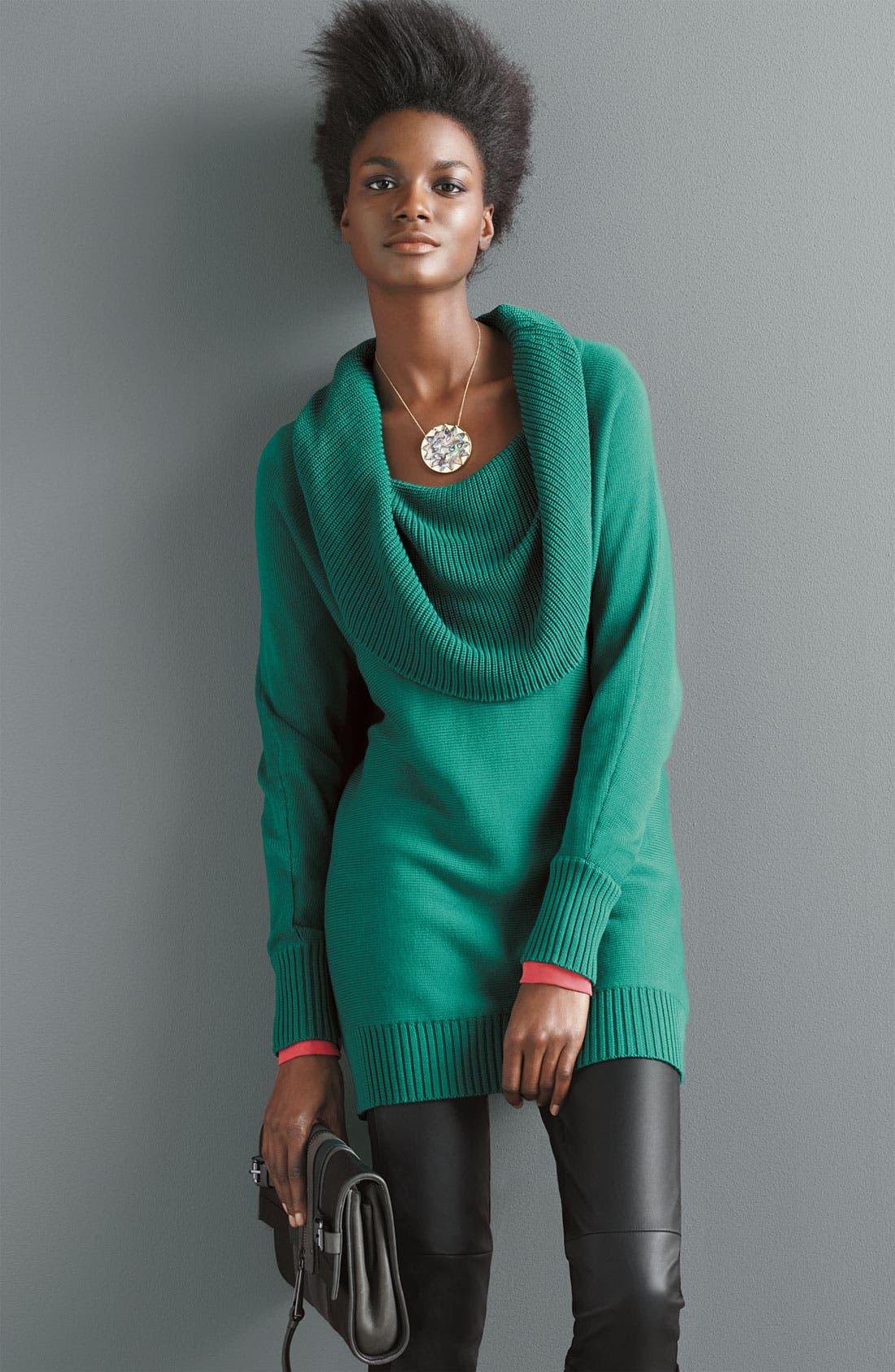 Alternate Image 4  - Caslon® Cowl Neck Dolman Sweater