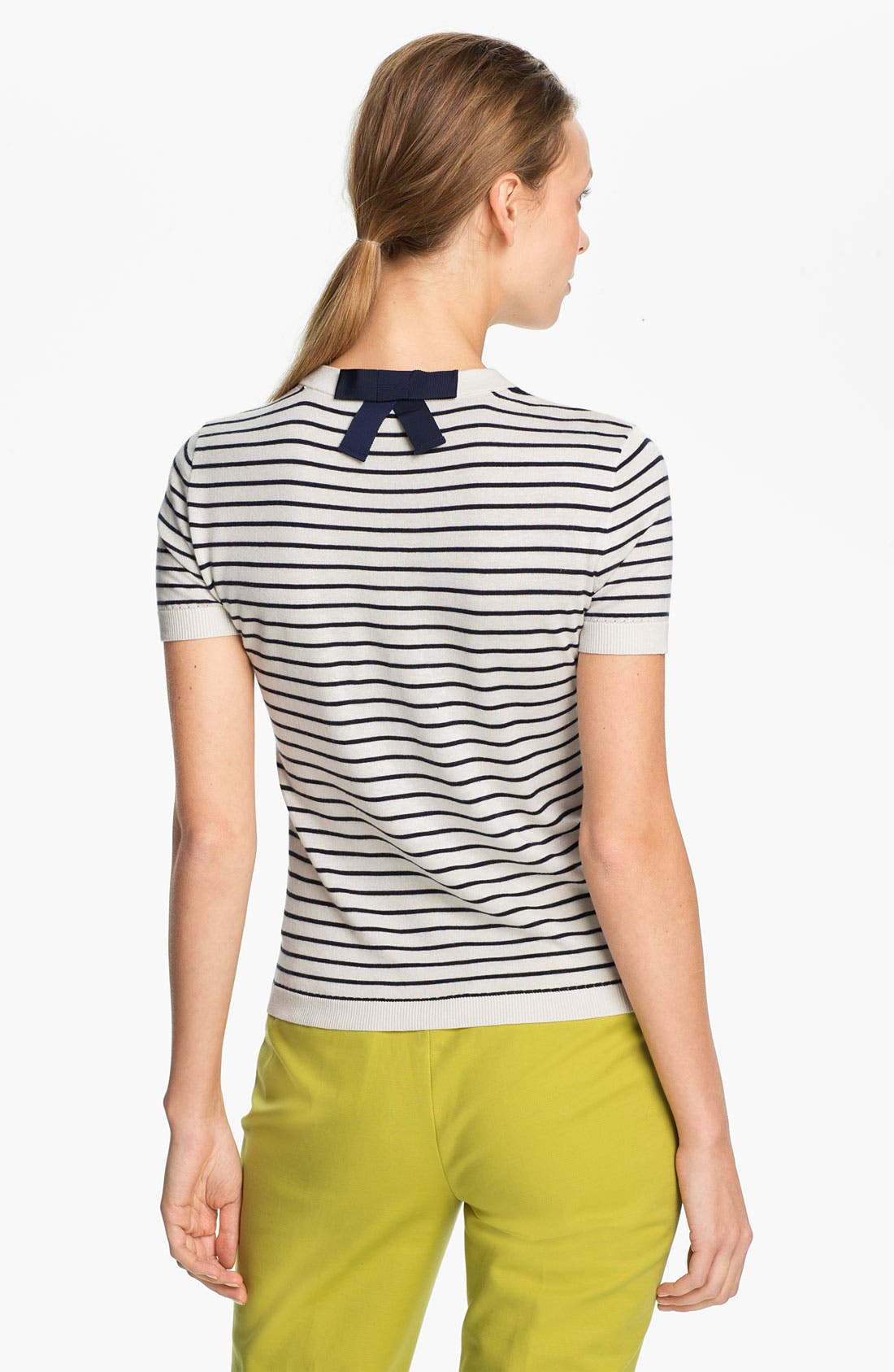 Alternate Image 2  - kate spade new york 'nataly' crewneck sweater