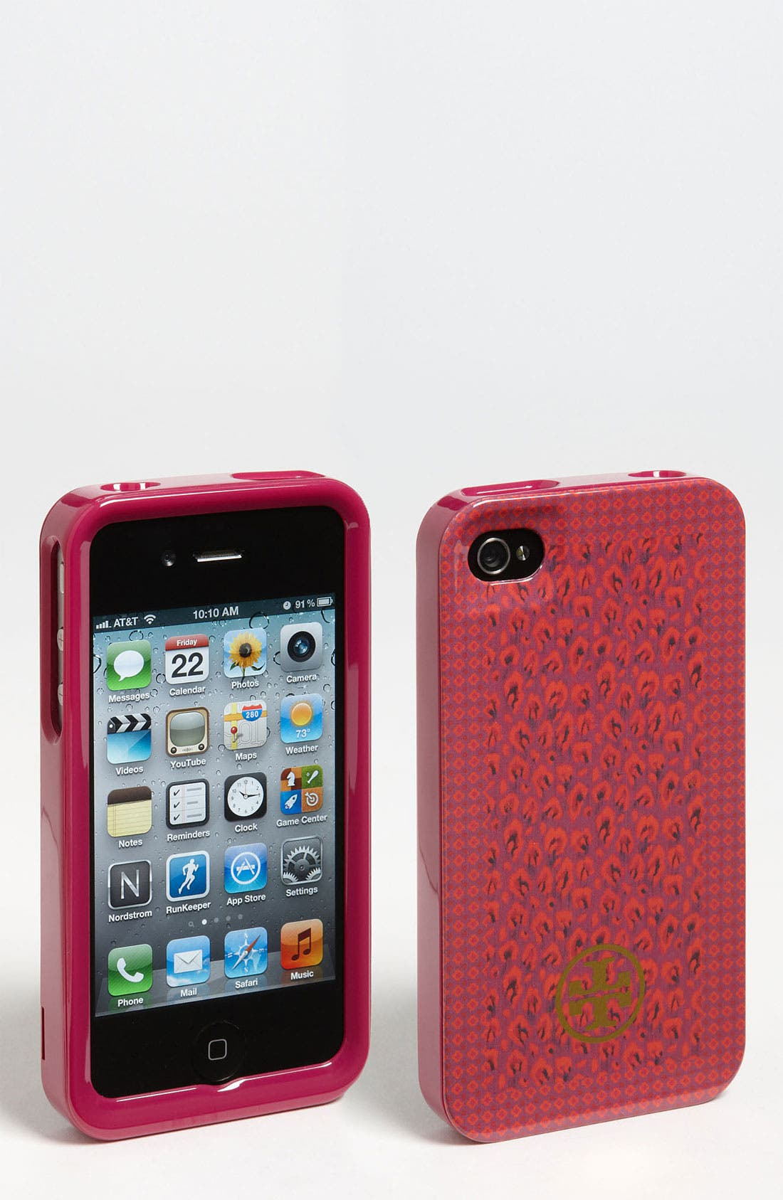 Alternate Image 1 Selected - Tory Burch 'Wray Mix' iPhone 4 & 4S Case
