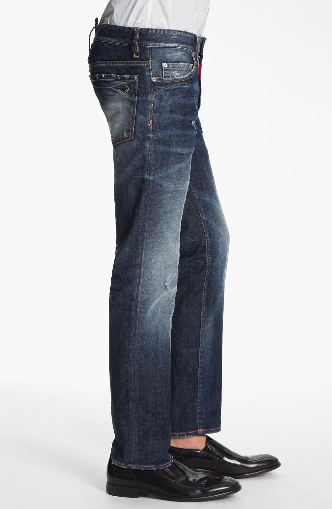Alternate Image 3  - Dsquared2 'Dean' Straight Leg Jeans