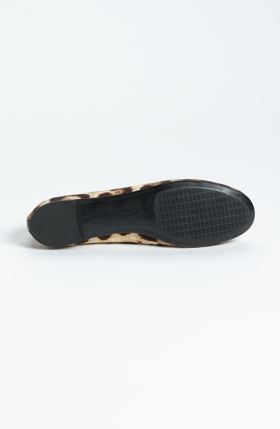 Alternate Image 4  - Dolce&Gabbana Leopard Print Ballet Flat