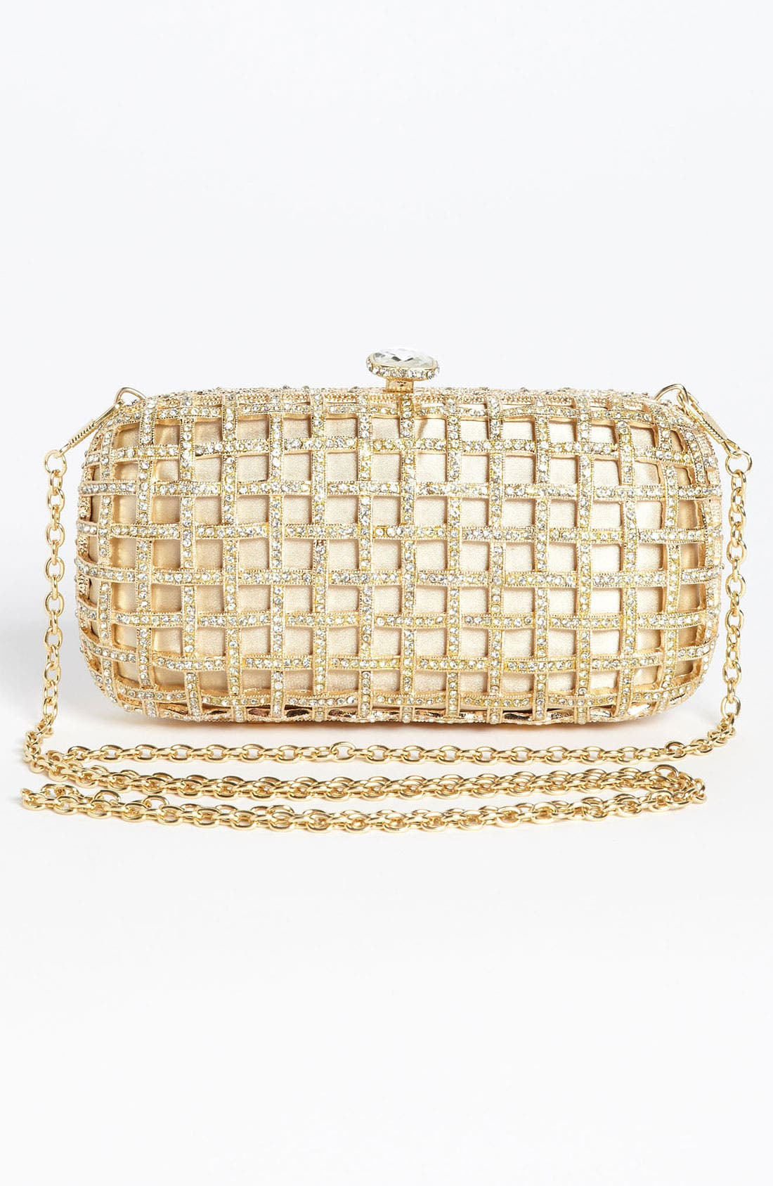 Alternate Image 3  - Natasha Couture Caged Clutch