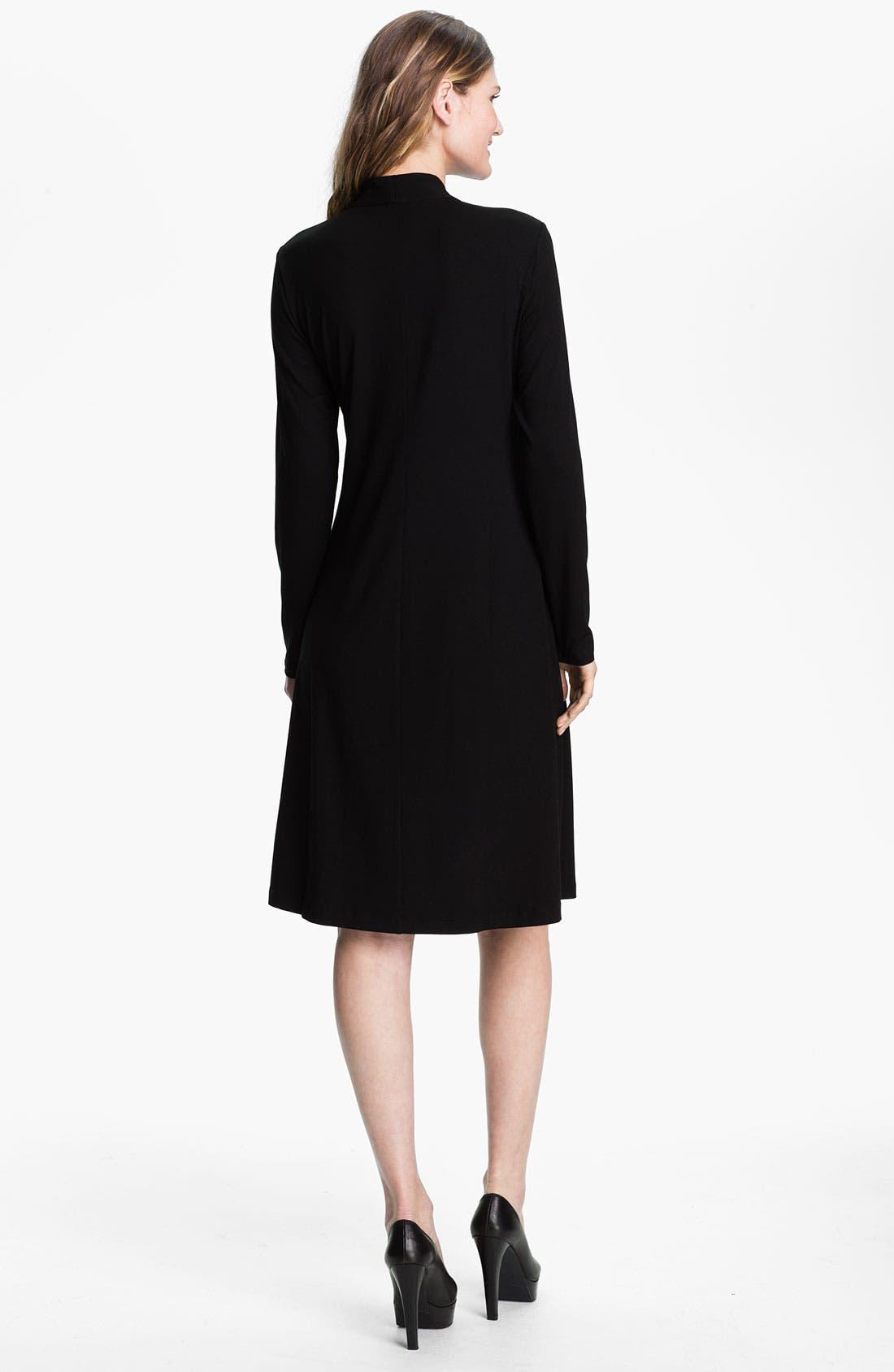 Alternate Image 2  - Eileen Fisher V-Neck Dress (Online Exclusive)