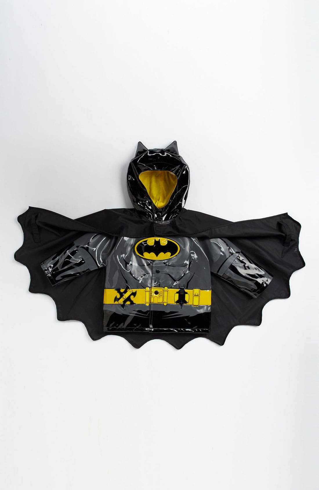 Alternate Image 1 Selected - Western Chief 'Batman Everlasting' Light-Up Rain Coat (Toddler, Little Boys & Big Boys)