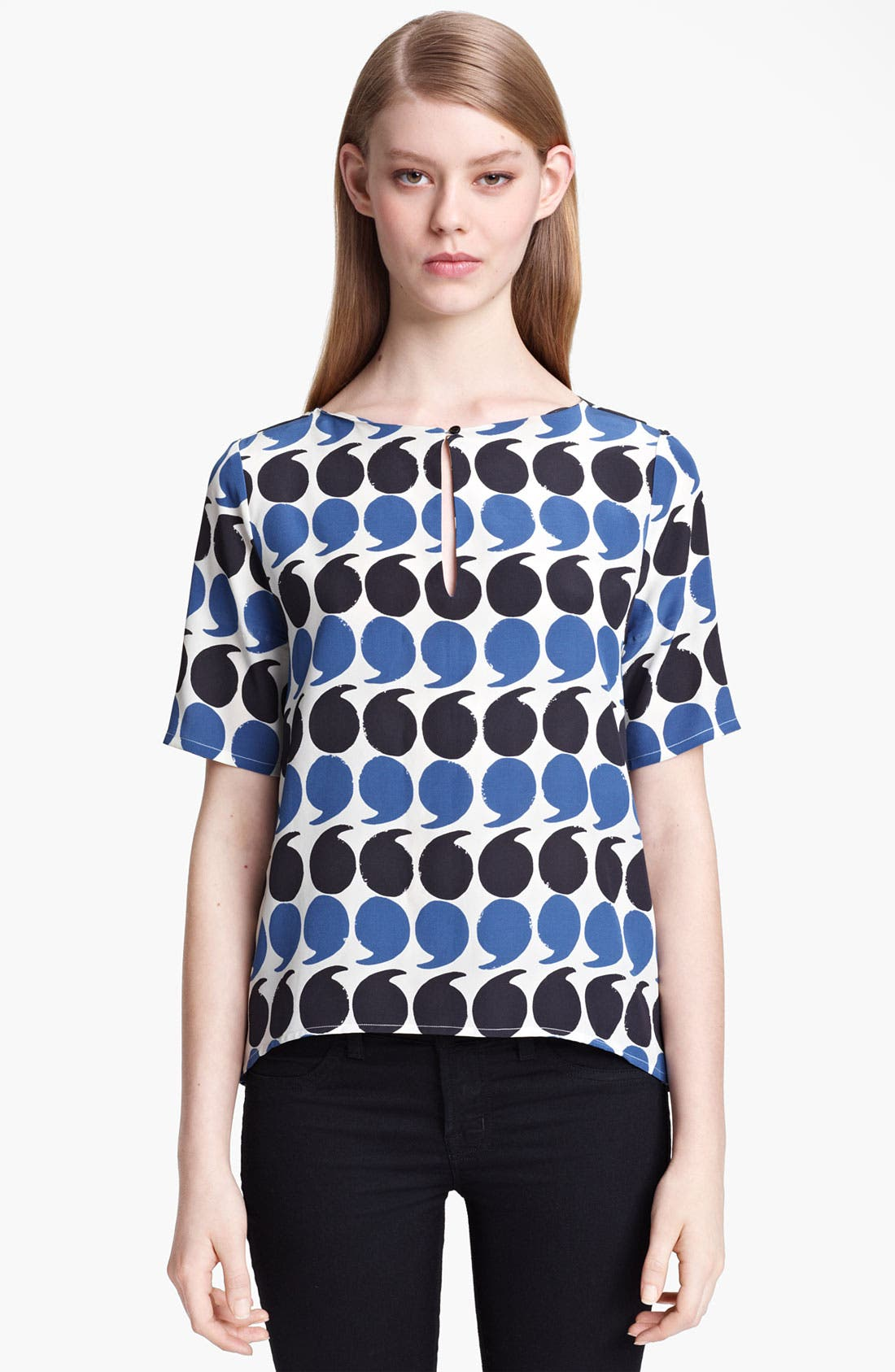 Main Image - Band of Outsiders Punctuation Print Top