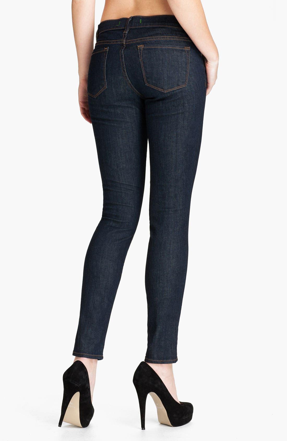 Alternate Image 2  - J Brand Stretch Denim Skinny Jeans (Tudor)