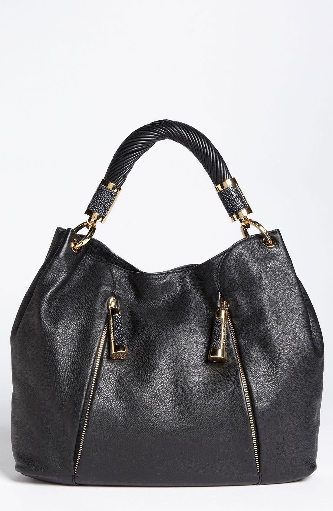 Main Image - Michael Kors 'Tonne' Leather Hobo