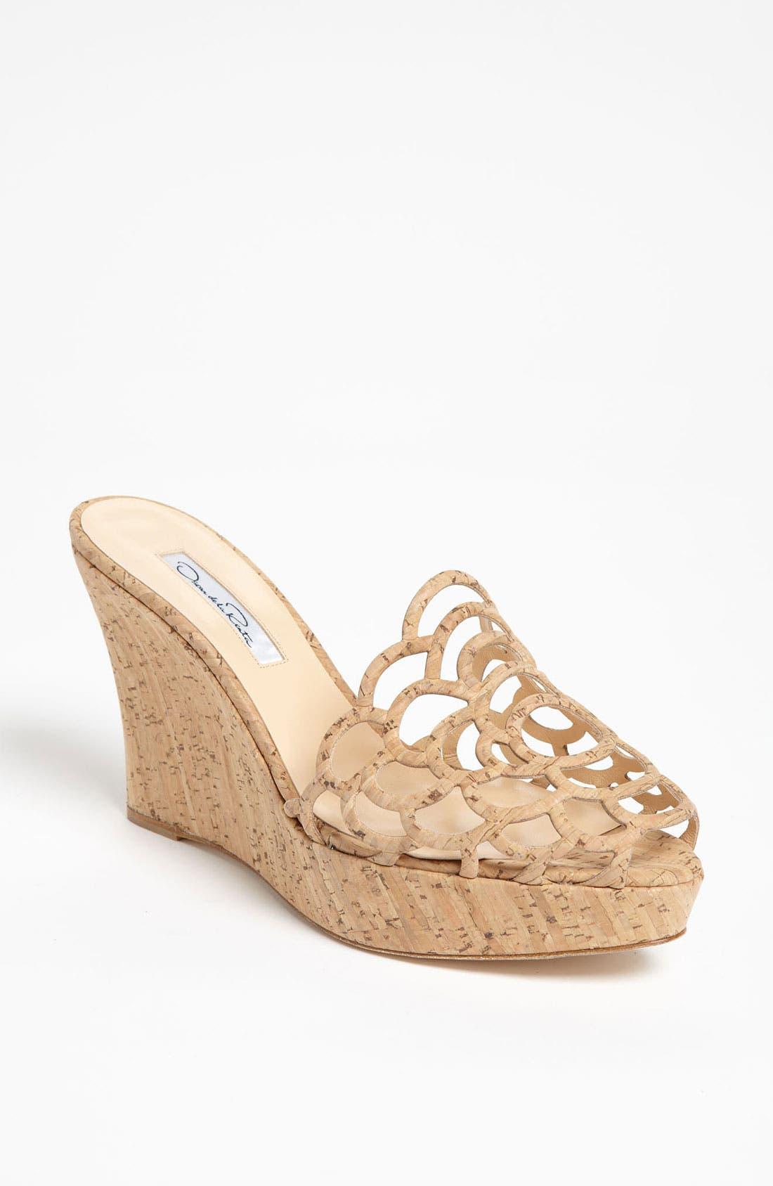 Main Image - Oscar de la Renta 'Virma' Cork Sandal