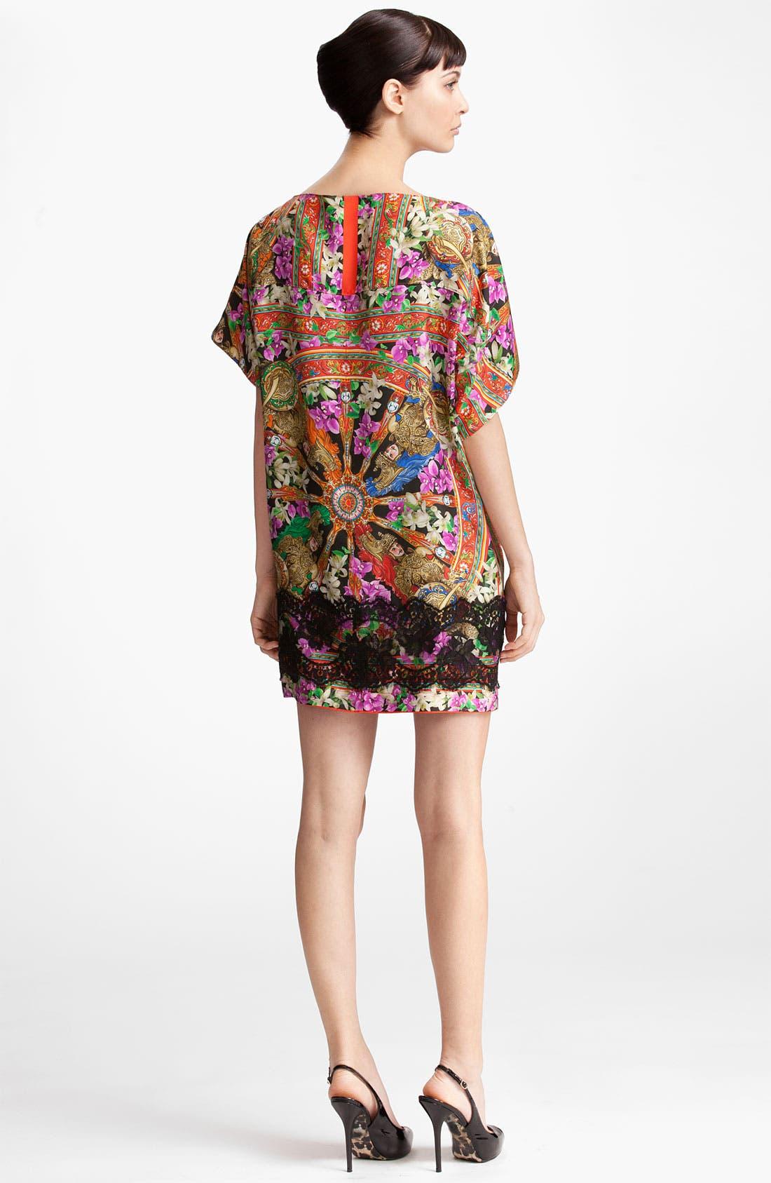 Alternate Image 2  - Dolce&Gabbana Lace Trim Twill Tunic