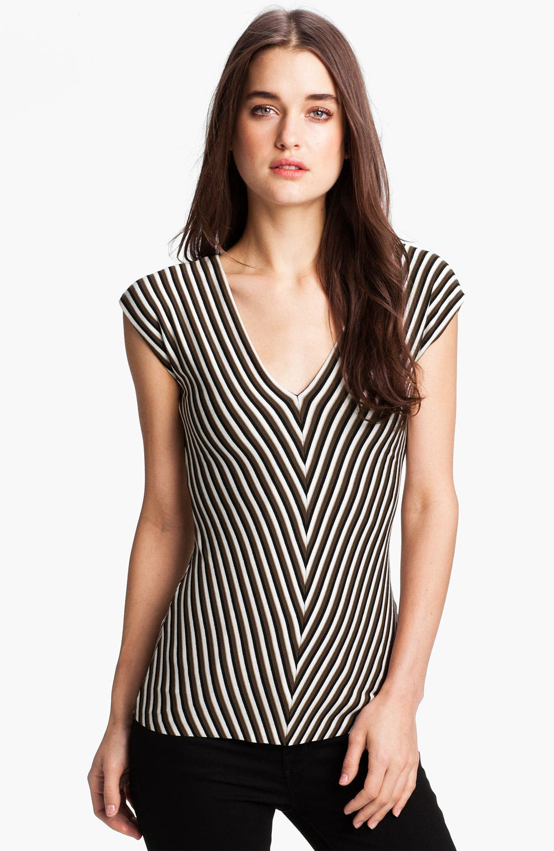 Alternate Image 1 Selected - Bailey 44 'Operation' Chevron Stripe Top
