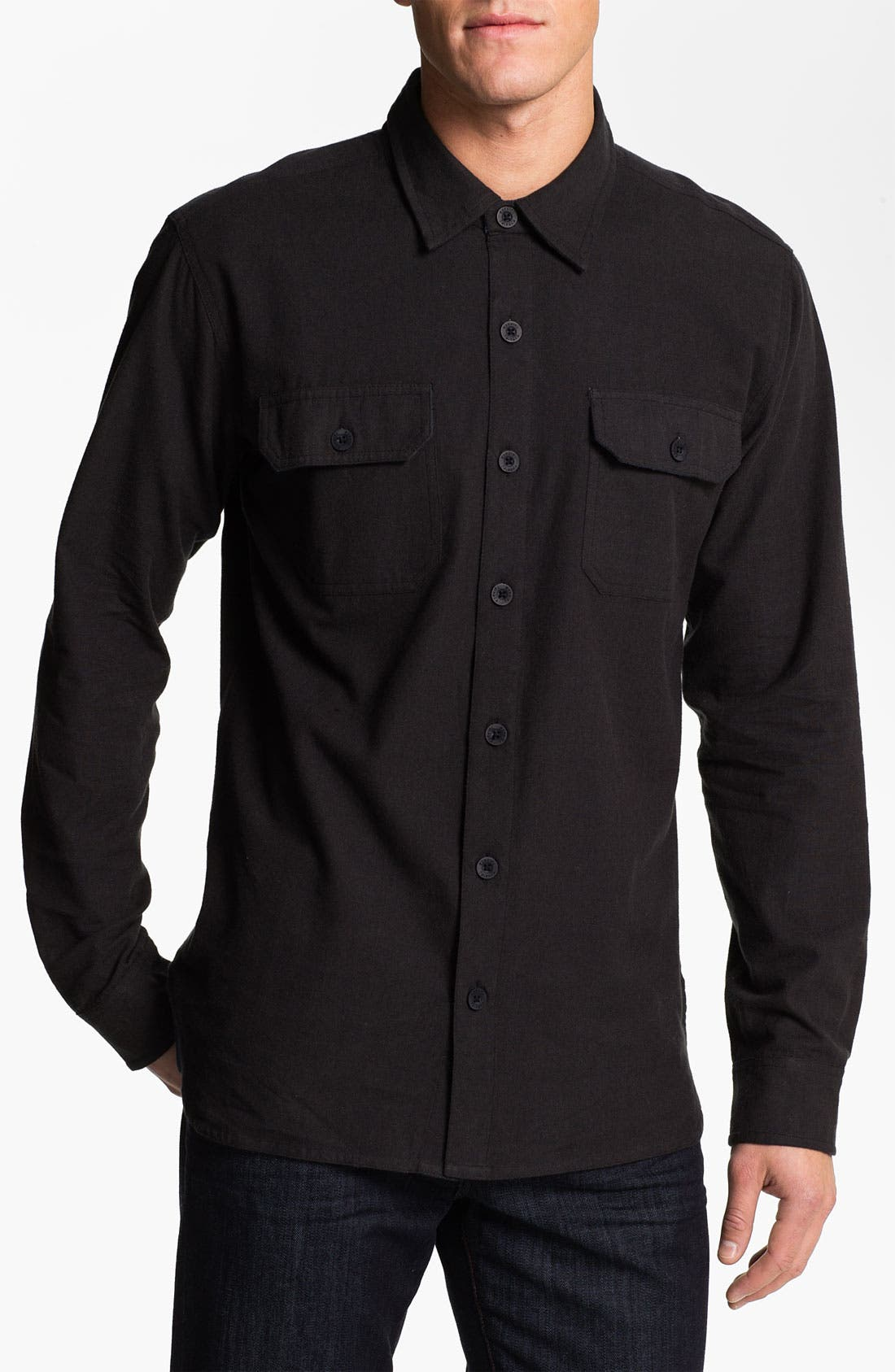 Main Image - Ezekiel 'The Union' Cotton Flannel Shirt