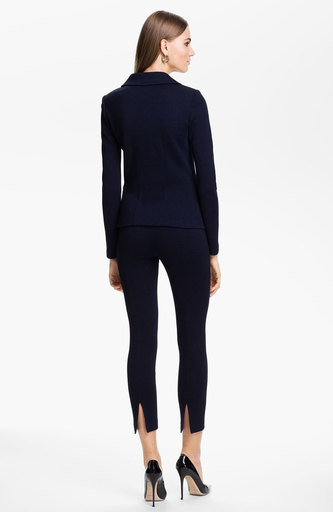 Alternate Image 4  - St. John Collection 'Alexa' Stretch Milano Knit Ankle Pants