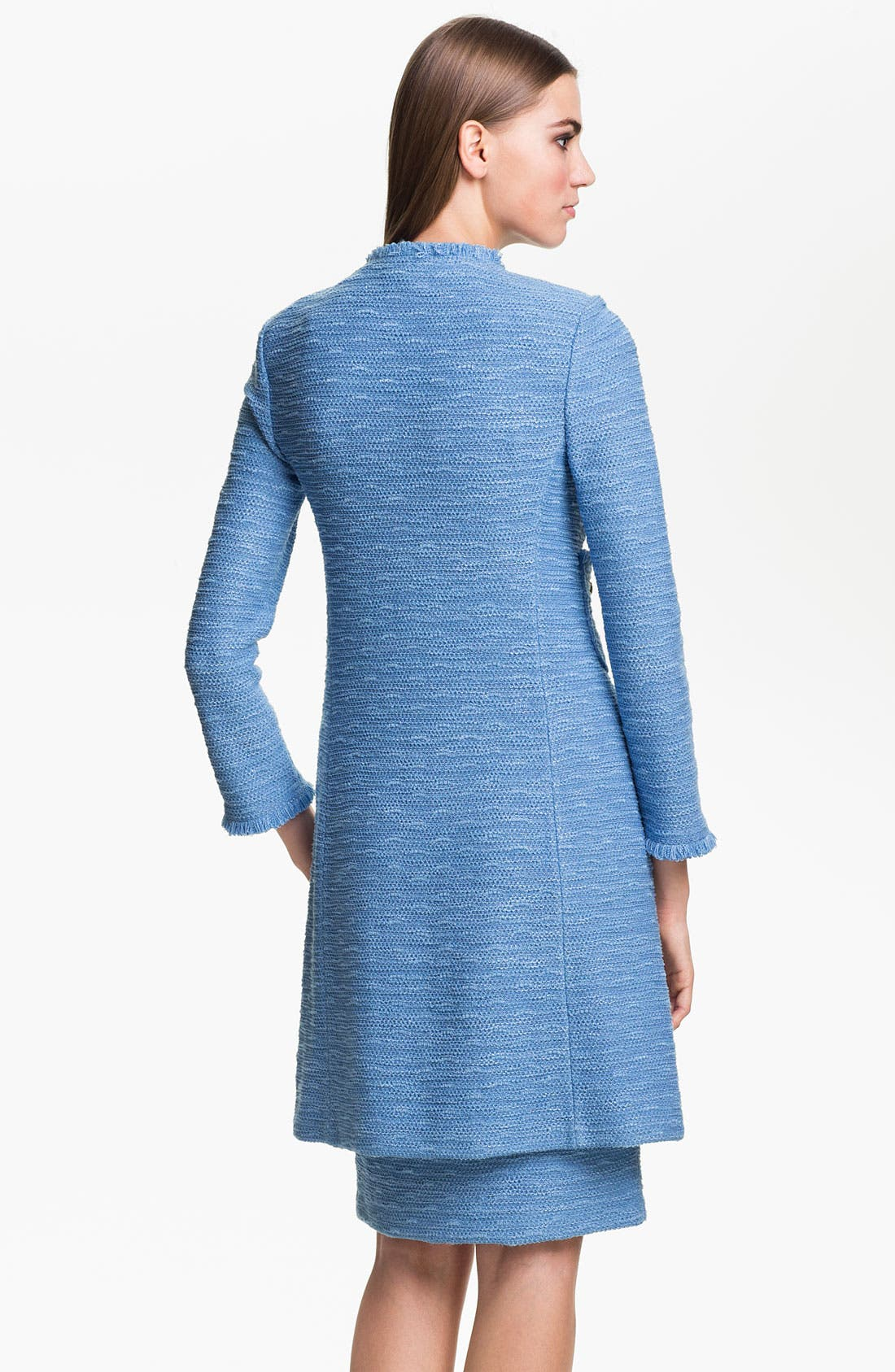 Alternate Image 4  - St. John Collection 'New Shantung' Coat
