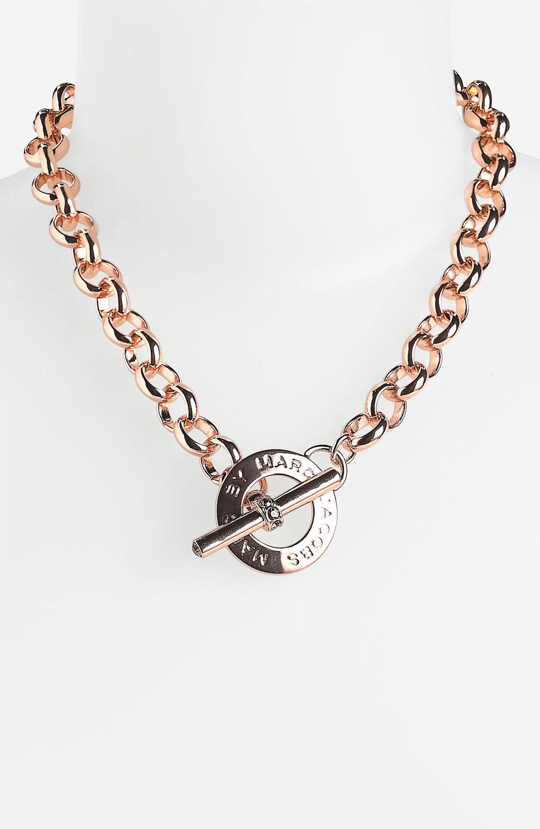 Alternate Image 1 Selected - MARC BY MARC JACOBS 'Toggles & Turnlocks' Link Necklace