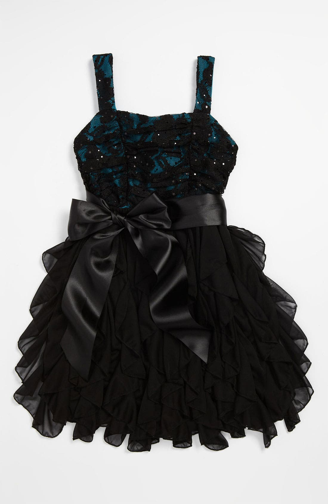 Main Image - Roxette Lace Dress (Big Girls)