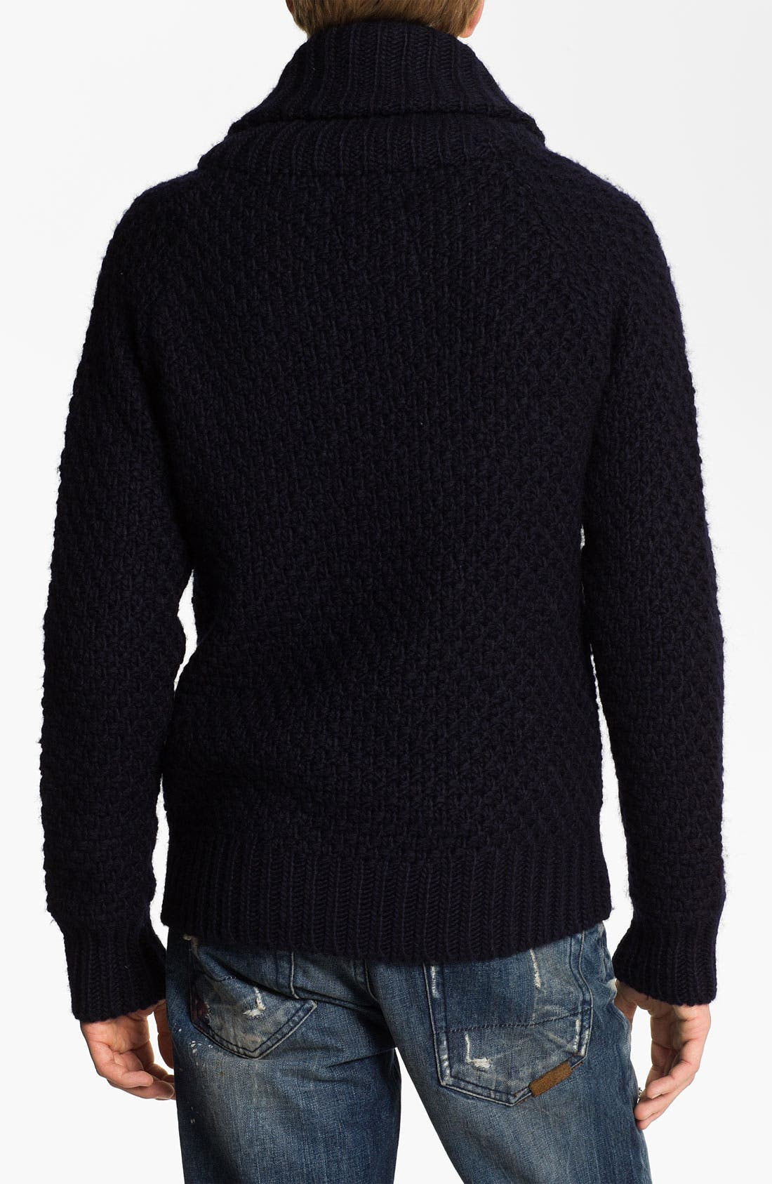 Alternate Image 2  - Scotch & Soda Shawl Collar Sweater