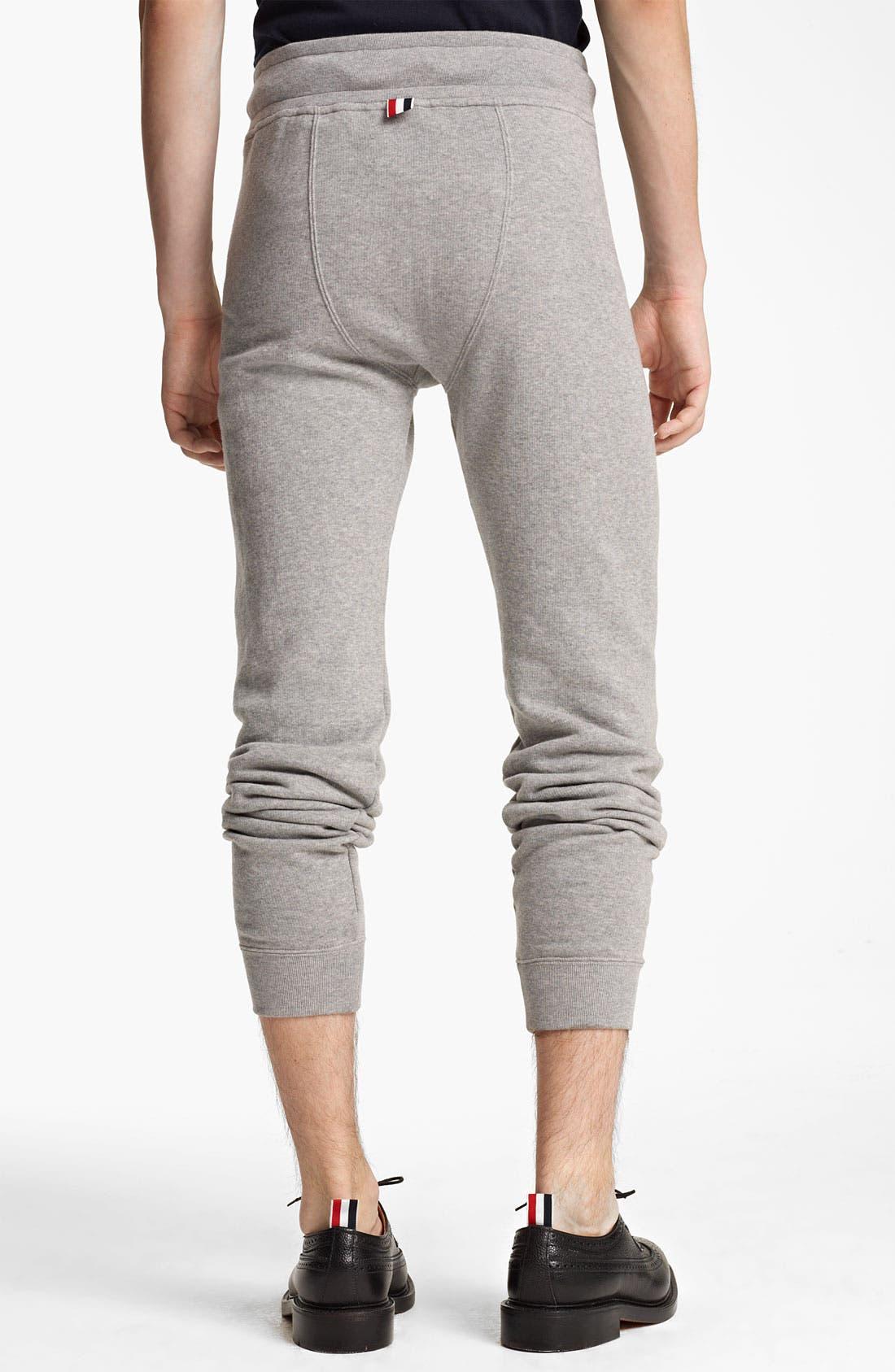 Alternate Image 2  - Thom Browne Cotton Terry Sweatpants