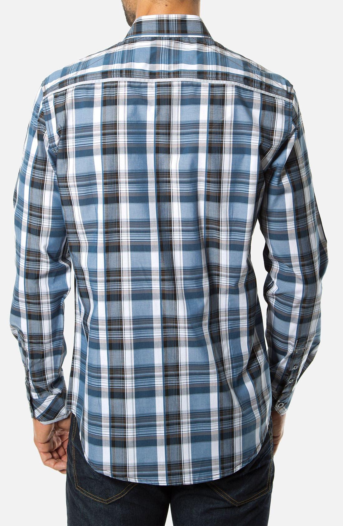 Alternate Image 2  - 7 Diamonds 'Spirit In The Sky' Woven Sport Shirt