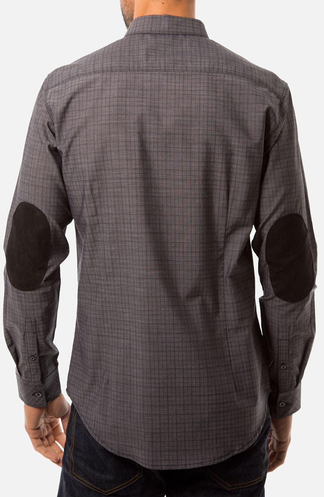 Alternate Image 2  - 7 Diamonds 'Youth Without Youth' Woven Sport Shirt