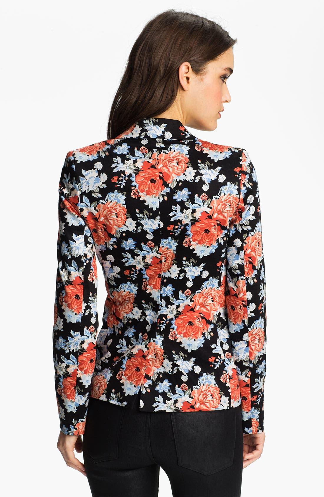 Alternate Image 2  - Bardot Floral Blazer