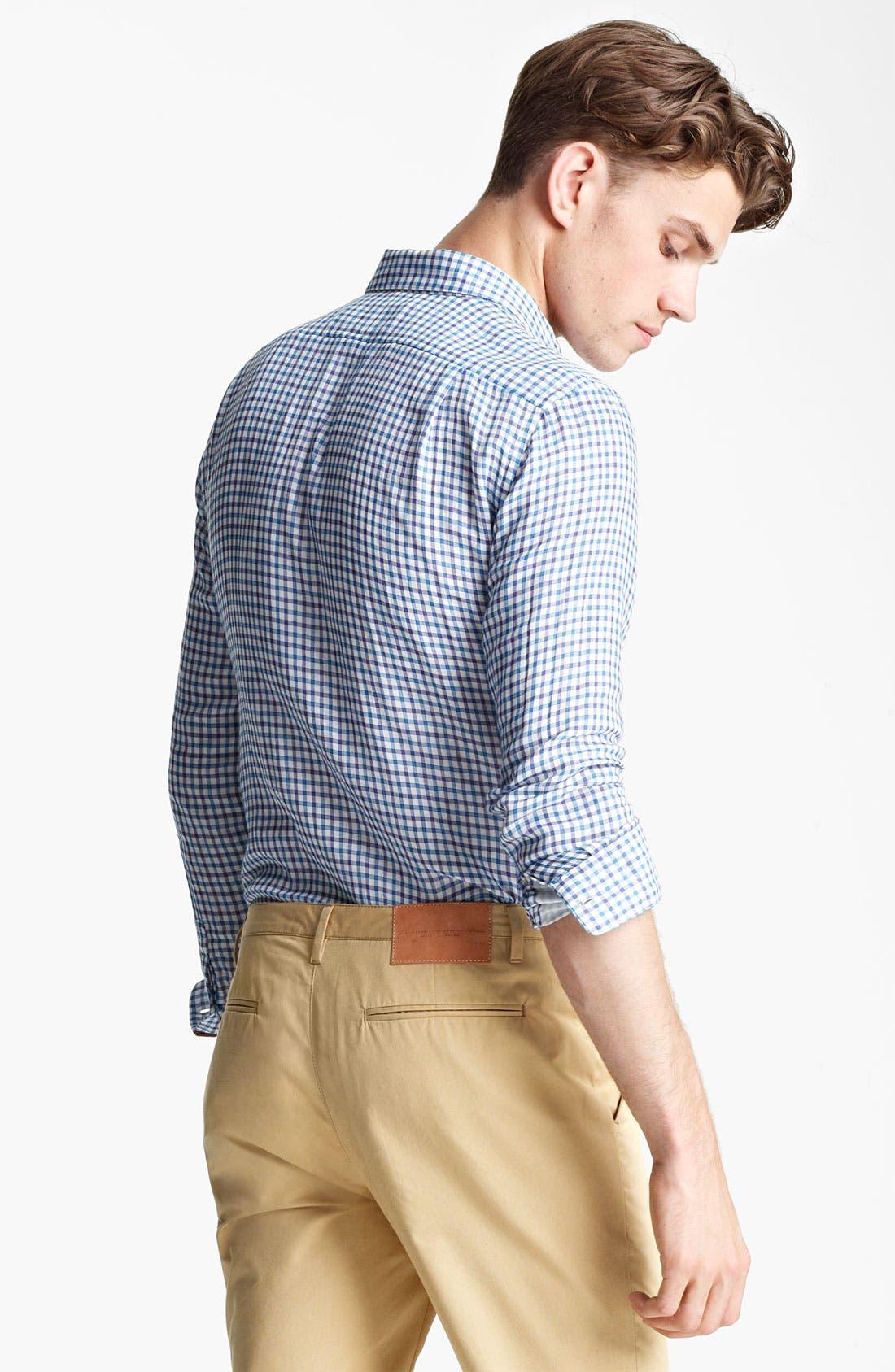 Alternate Image 2  - Shipley & Halmos Plaid Woven Shirt