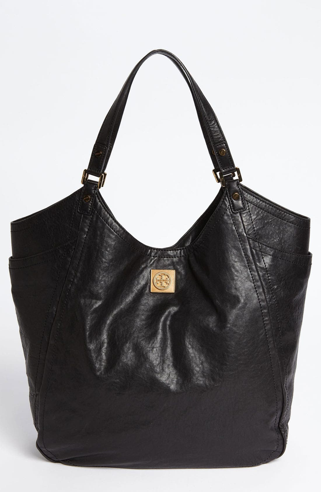 Alternate Image 1 Selected - Tory Burch 'Louiisa - Slouchy' Leather Tote