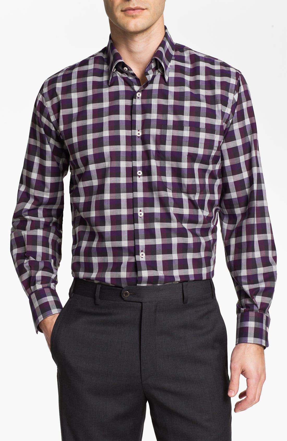 Alternate Image 1 Selected - Peter Millar Regular Fit Sport Shirt