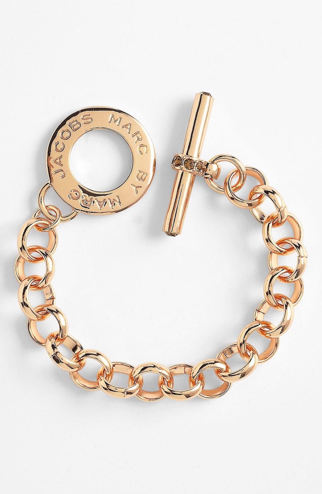 Alternate Image 1 Selected - MARC BY MARC JACOBS 'Toggles & Turnlocks' Link Bracelet