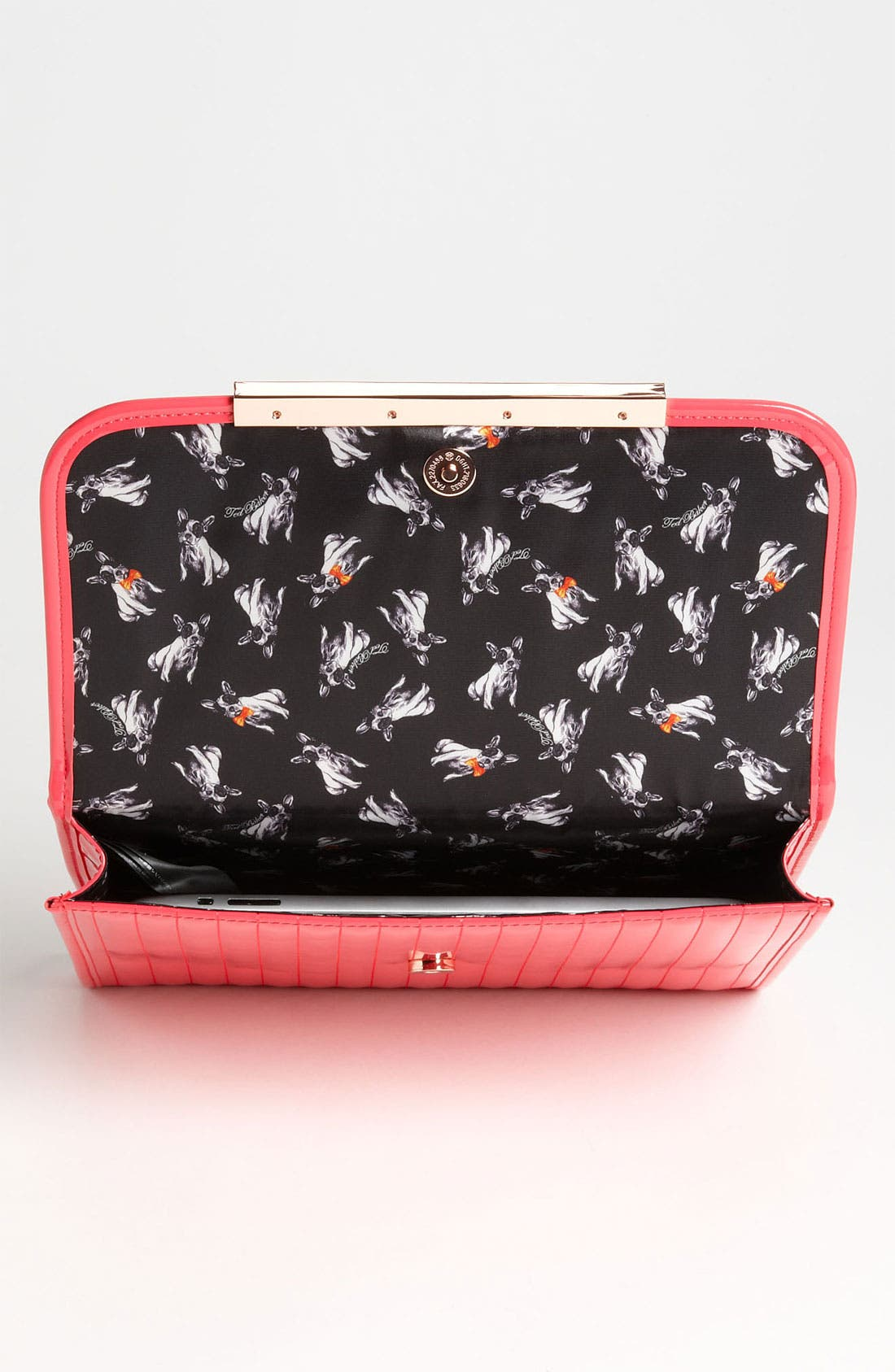 Alternate Image 3  - Ted Baker London Quilted iPad Case