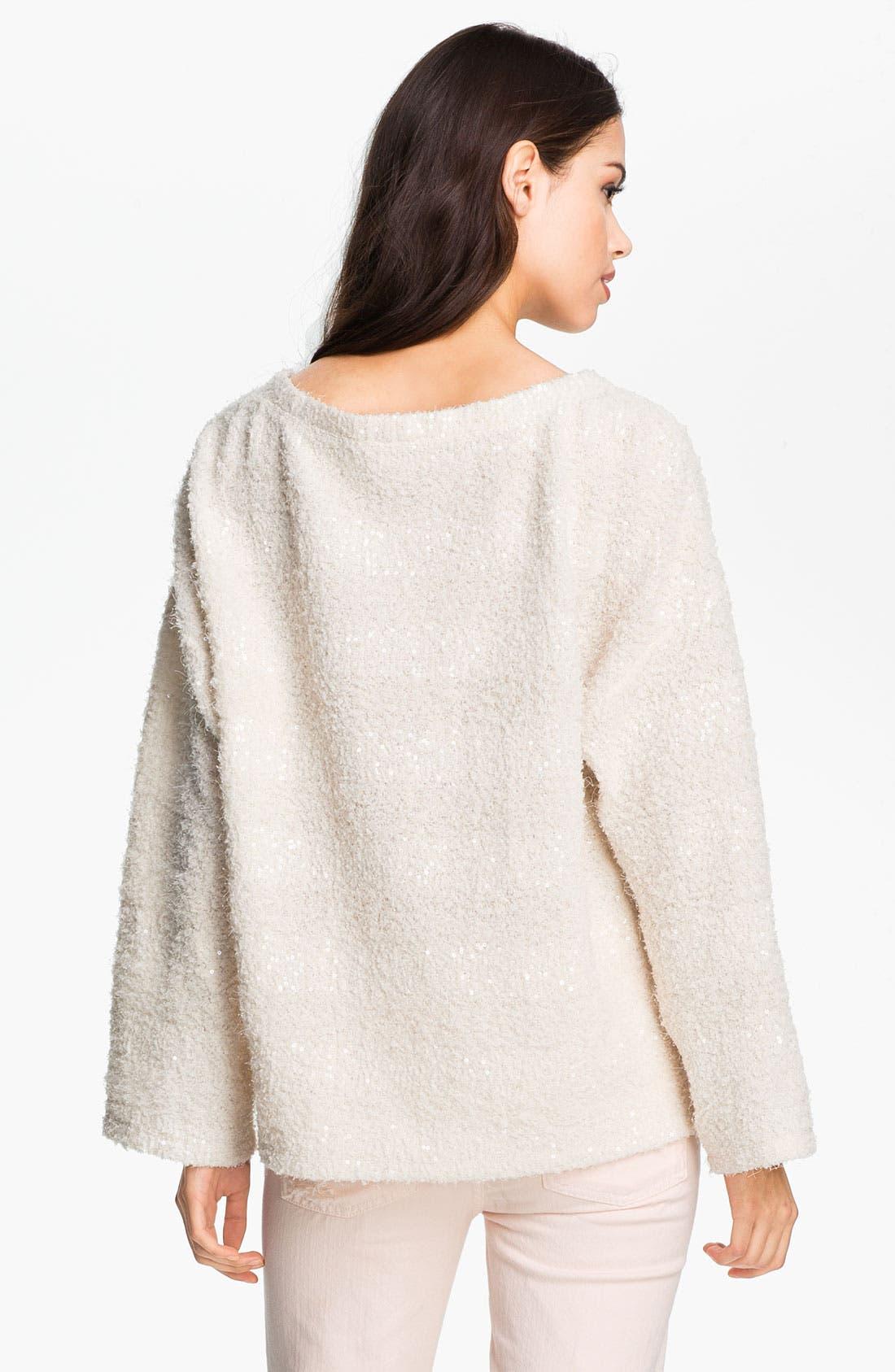 Alternate Image 2  - Heed Stripe Bouclé Sweater