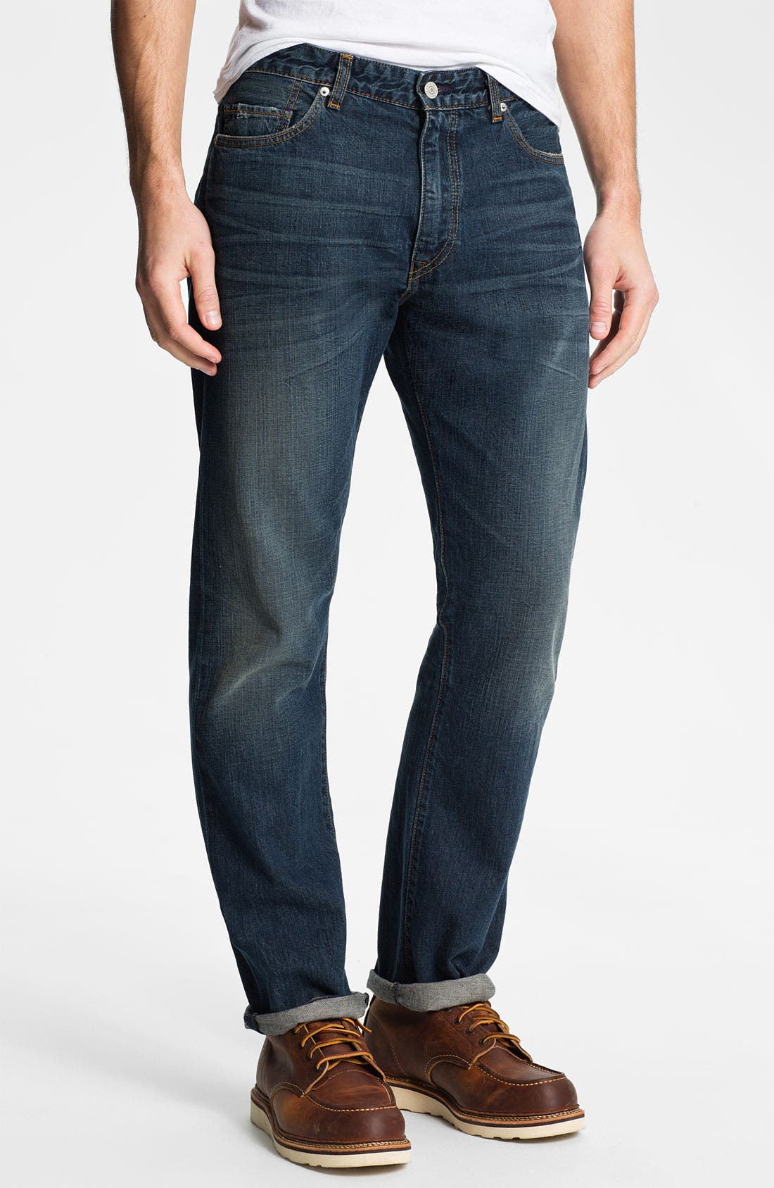 Alternate Image 1 Selected - Levi's® Made & Crafted™ 'Cutter' Relaxed Straight Leg Jeans (Vernon)