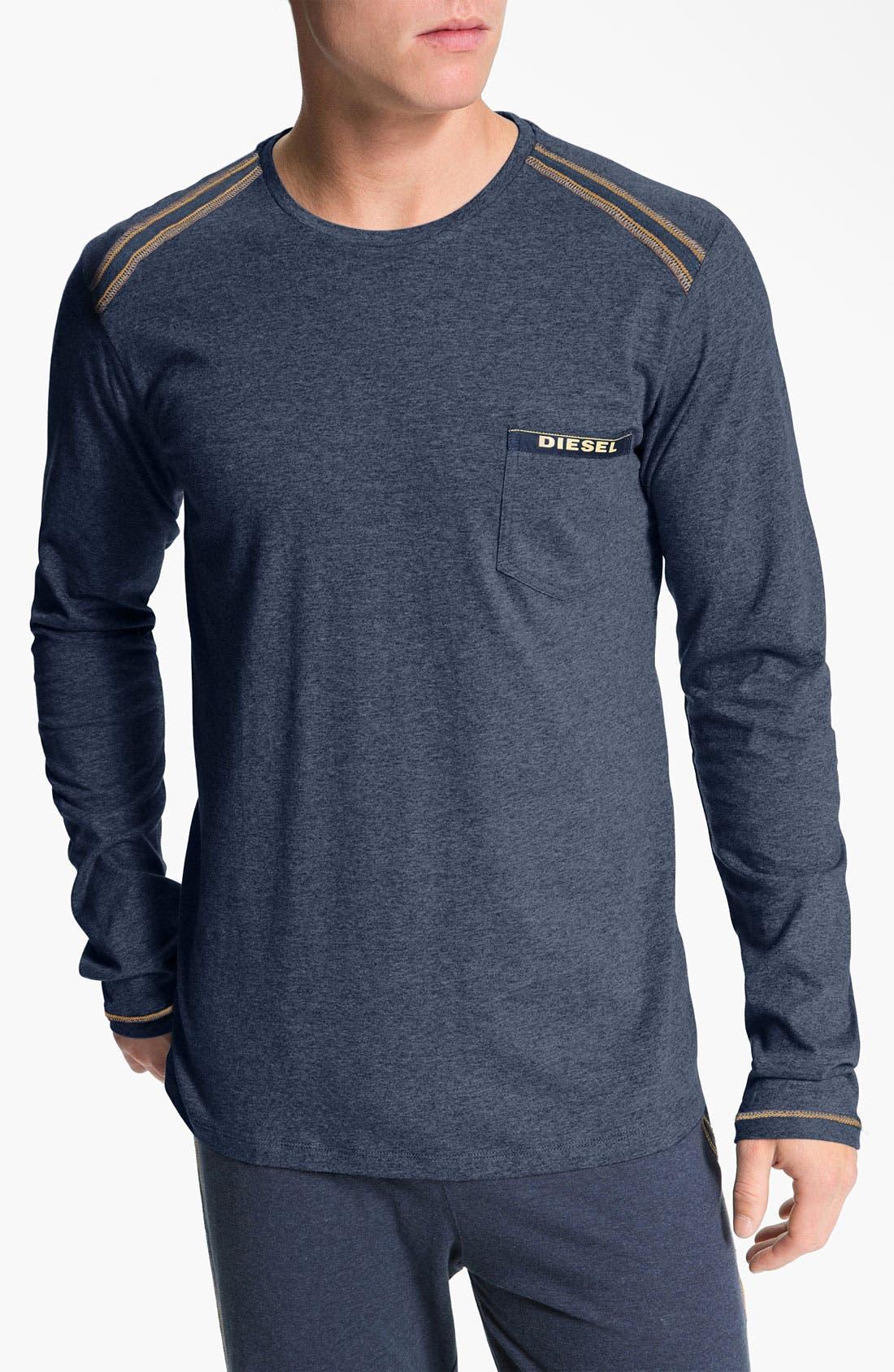 Alternate Image 1 Selected - DIESEL® 'Justin' Long Sleeve T-Shirt