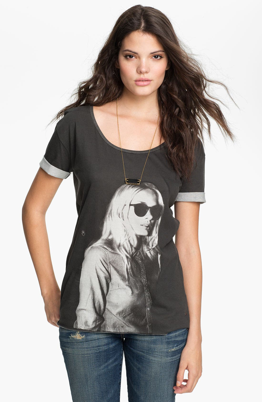 Alternate Image 1 Selected - Maison Scotch 'Rock' Graphic Tee