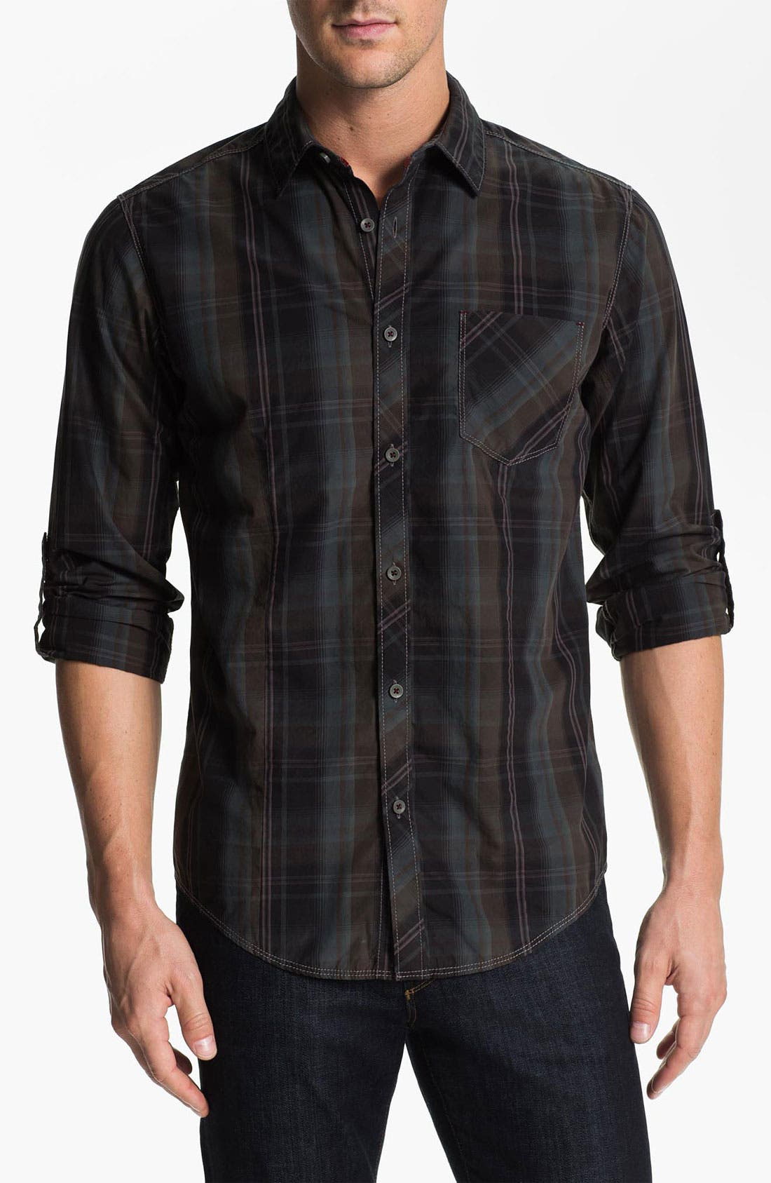 Alternate Image 1 Selected - Jeremiah 'Astor' Poplin Sport Shirt
