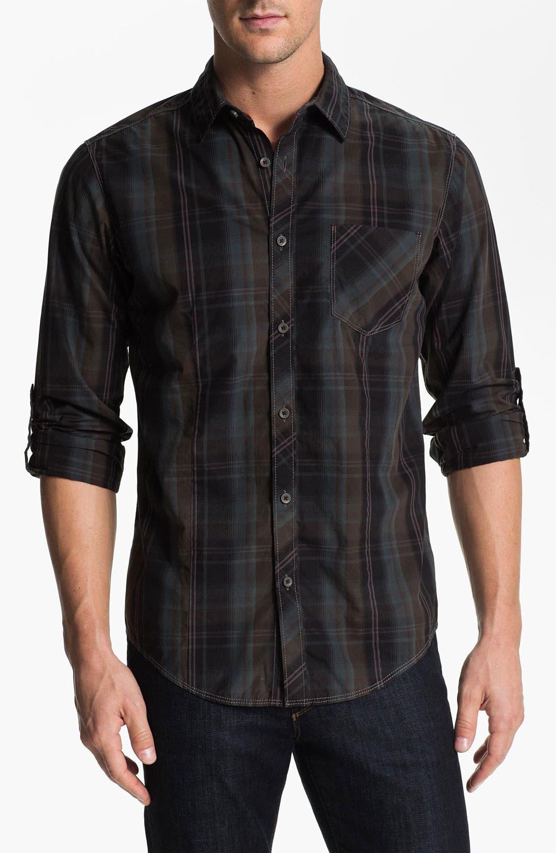 Main Image - Jeremiah 'Astor' Poplin Sport Shirt